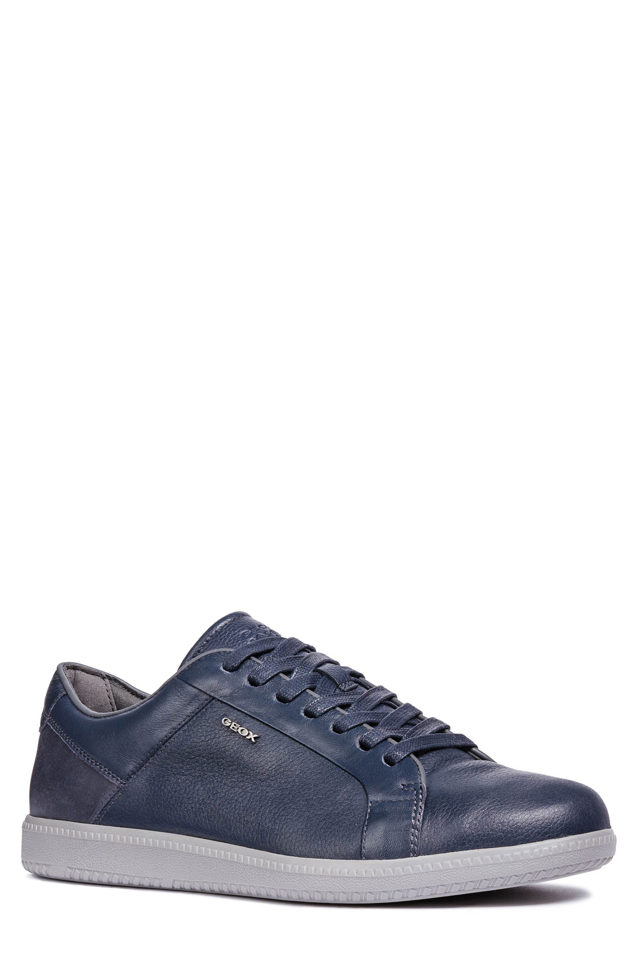men's geox keilan 4 low top sneaker, size 9us / 42eu - blue