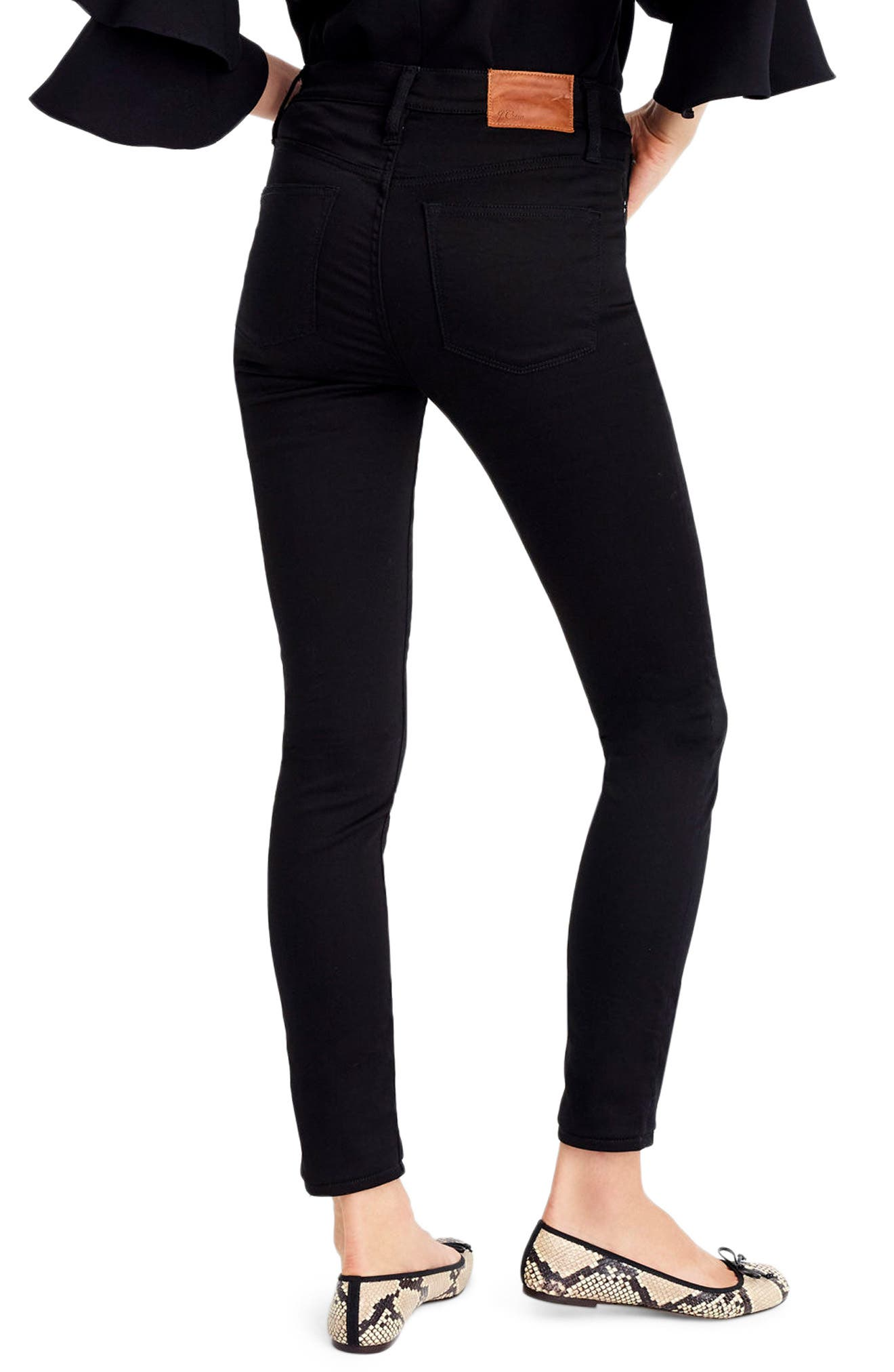 Toothpick High Rise Jeans,                             Alternate thumbnail 2, color,                             009