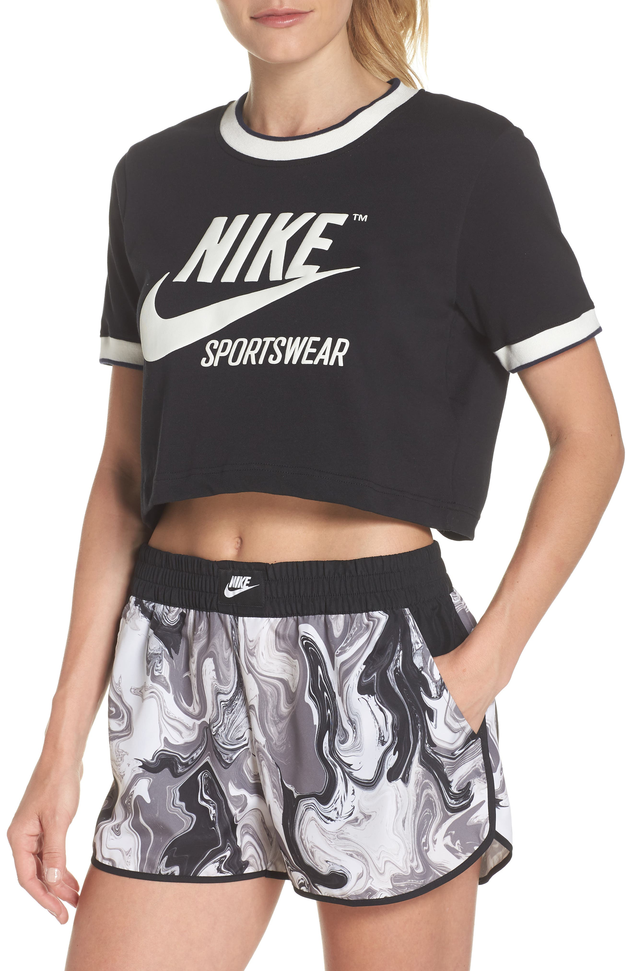 Sportswear Crop Top,                             Main thumbnail 1, color,                             010