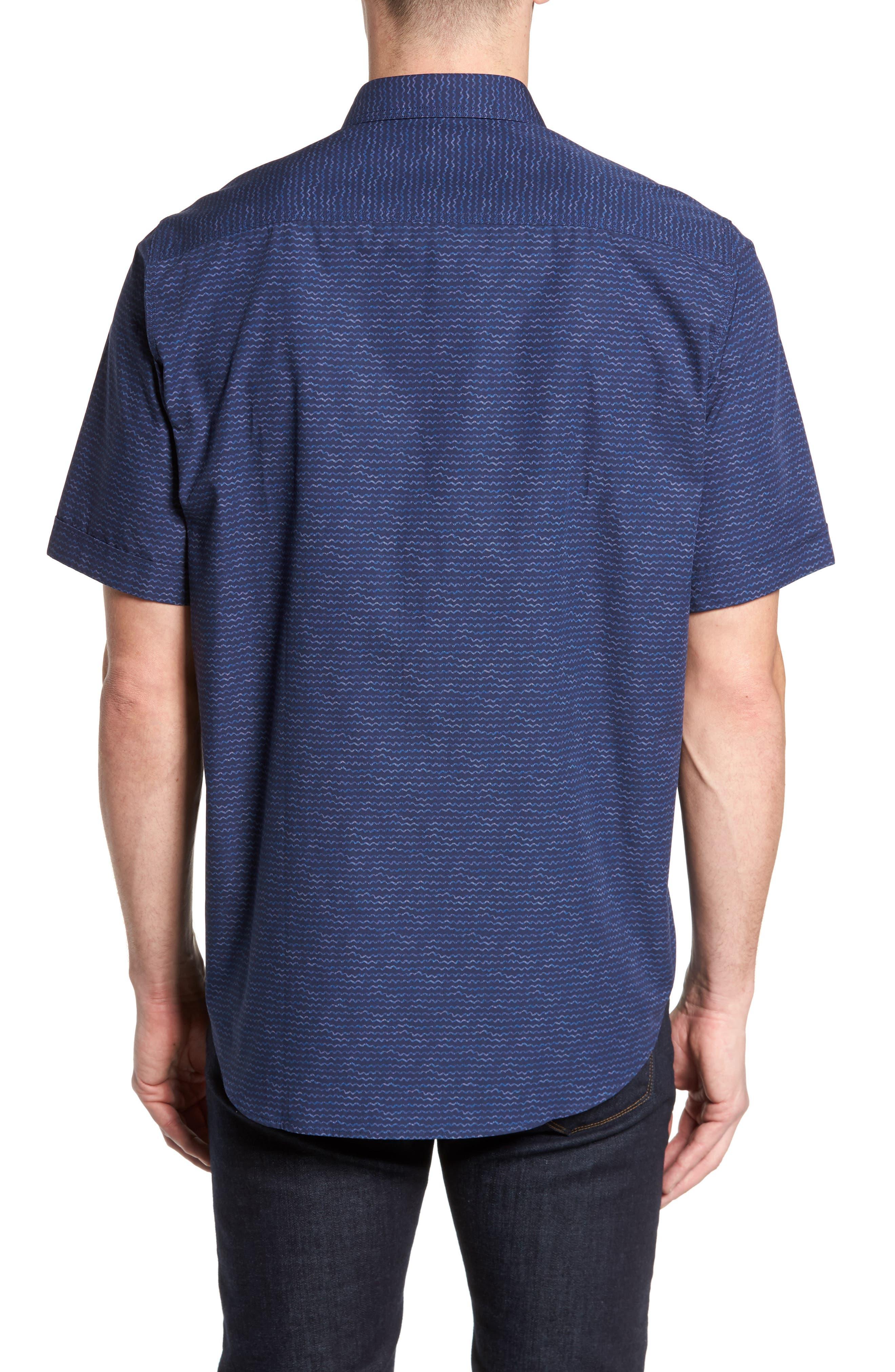 Classic Fit Sport Shirt,                             Alternate thumbnail 2, color,                             410