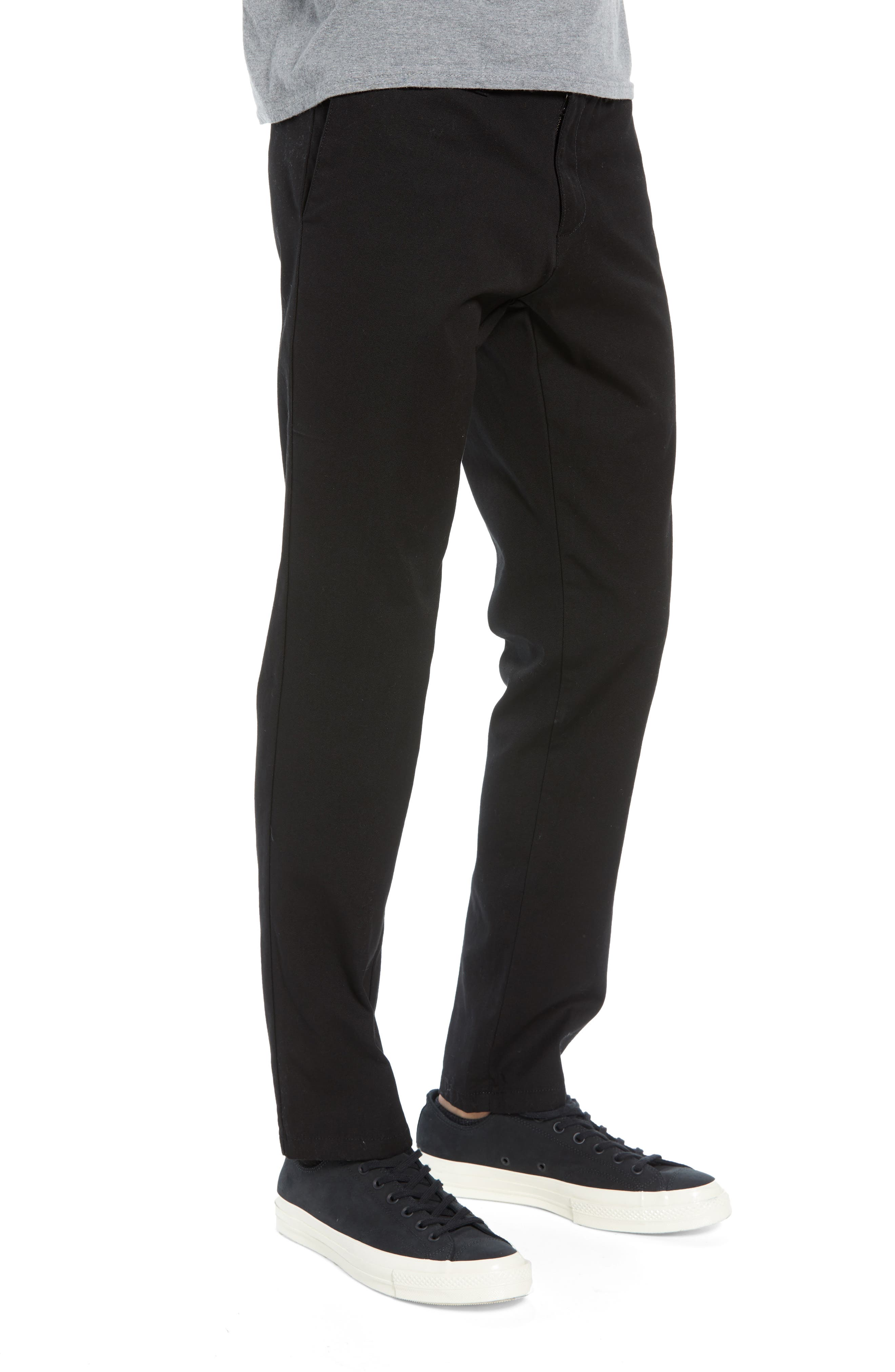 Sid Slim Fit Chinos,                             Alternate thumbnail 3, color,                             001