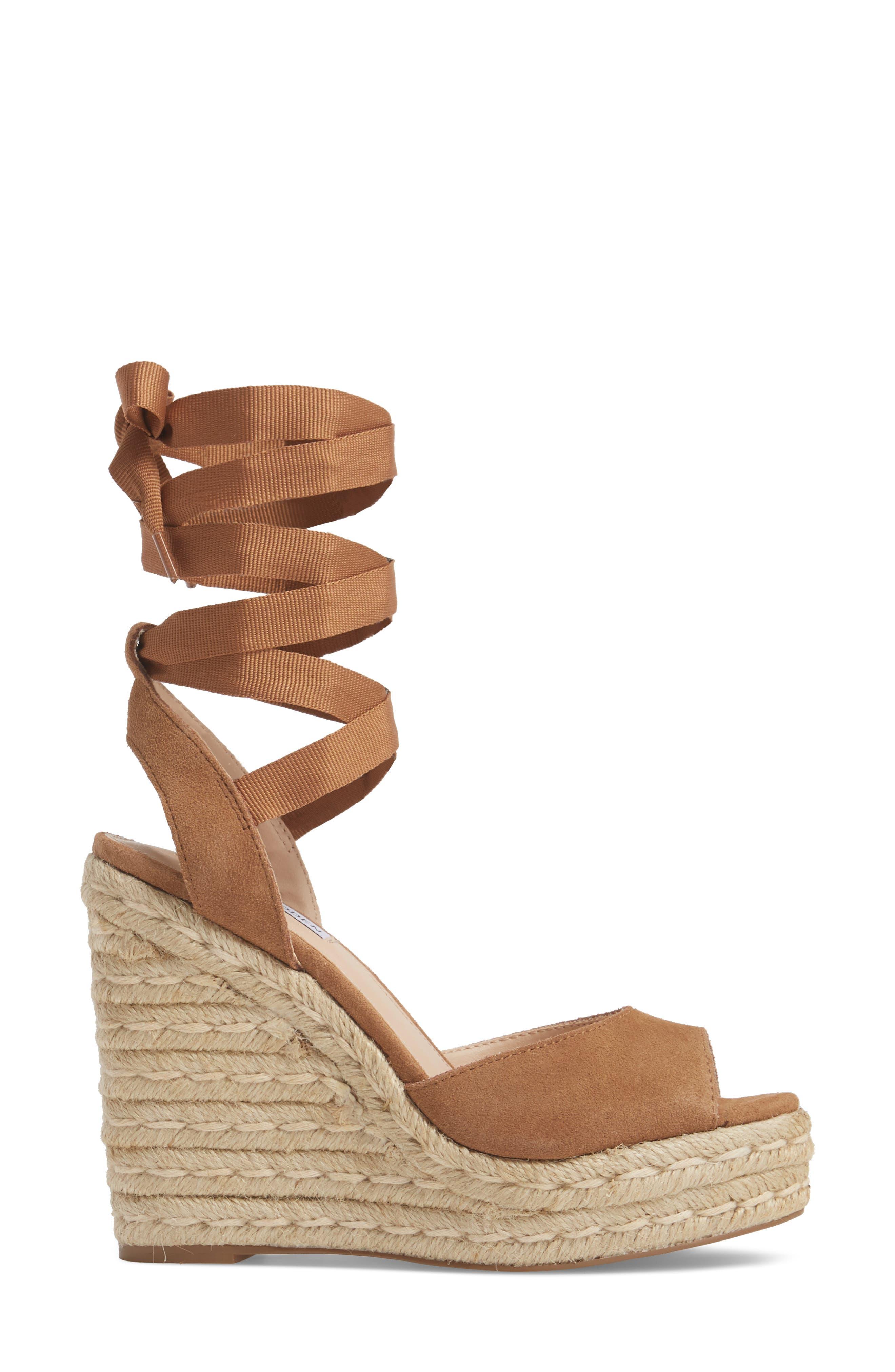 Secret Wedge Wraparound Sandal,                             Alternate thumbnail 6, color,
