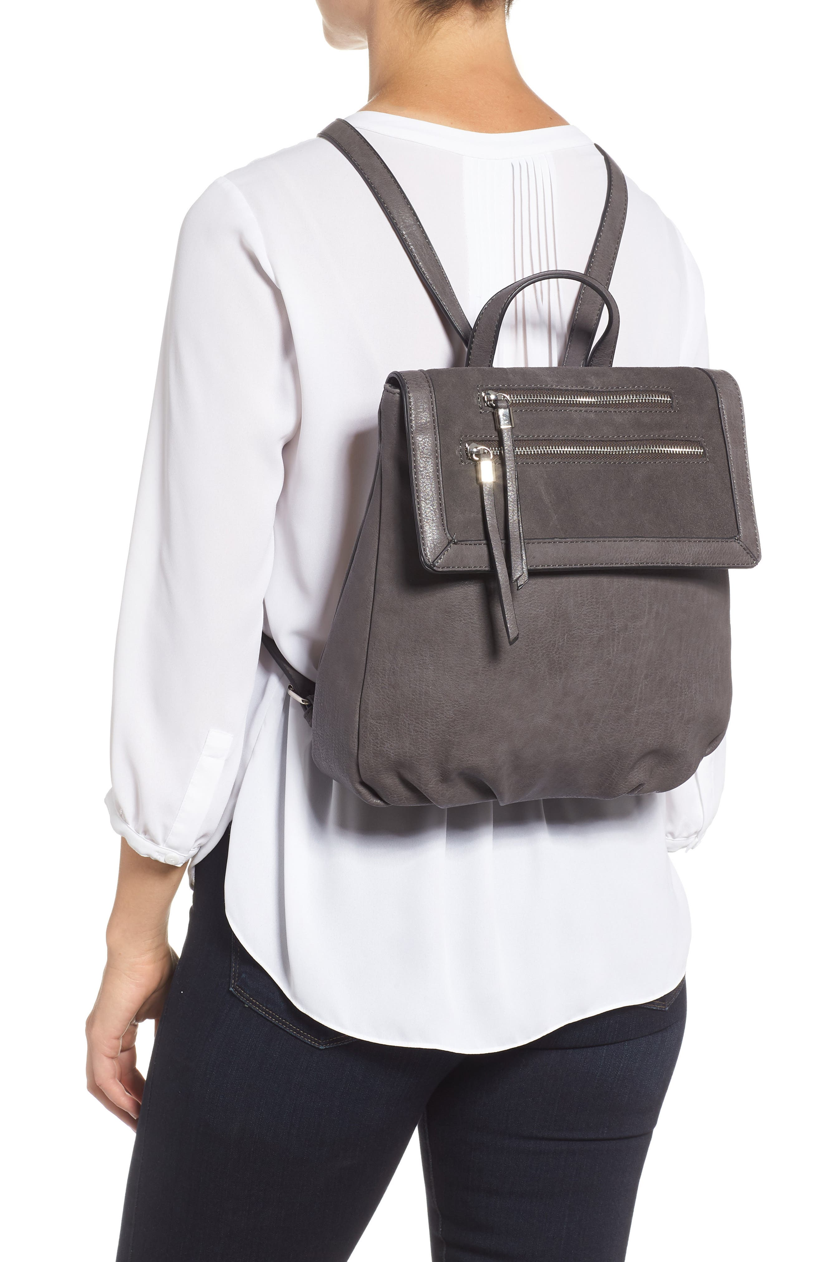 Chele Backpack,                             Alternate thumbnail 2, color,                             DARK GREY