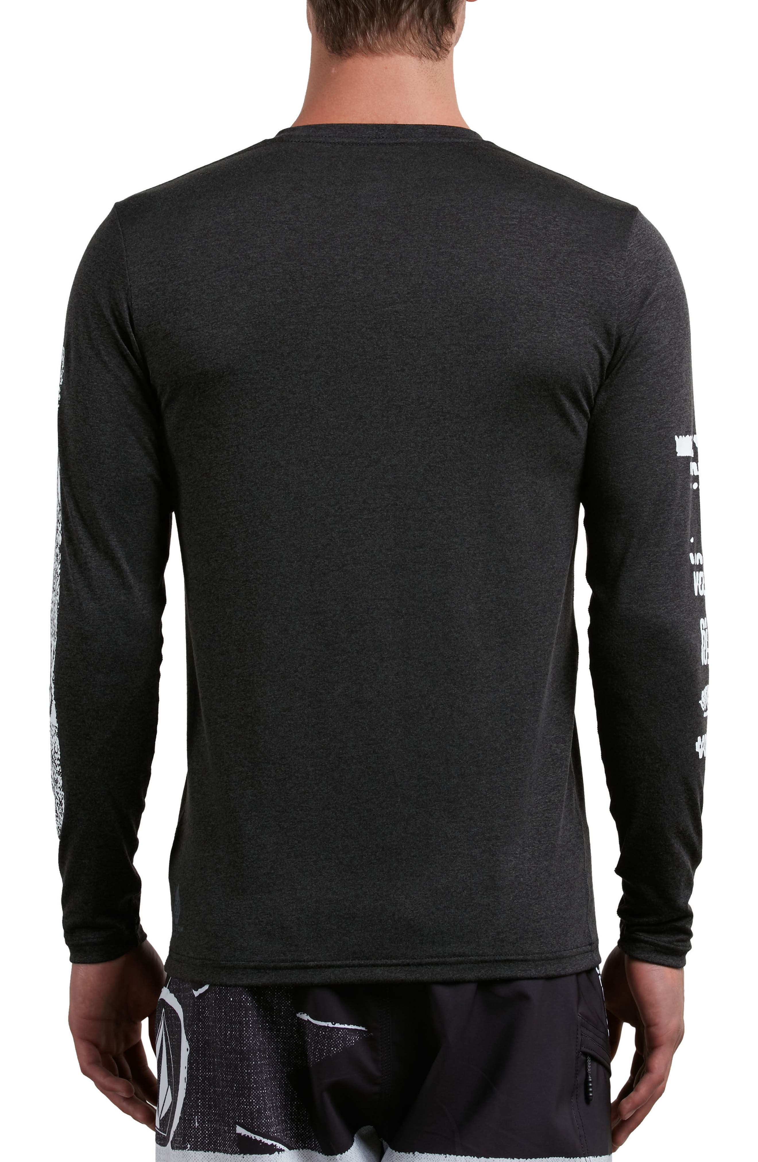 Lido Pixel Graphic Long Sleeve T-Shirt,                             Alternate thumbnail 3, color,