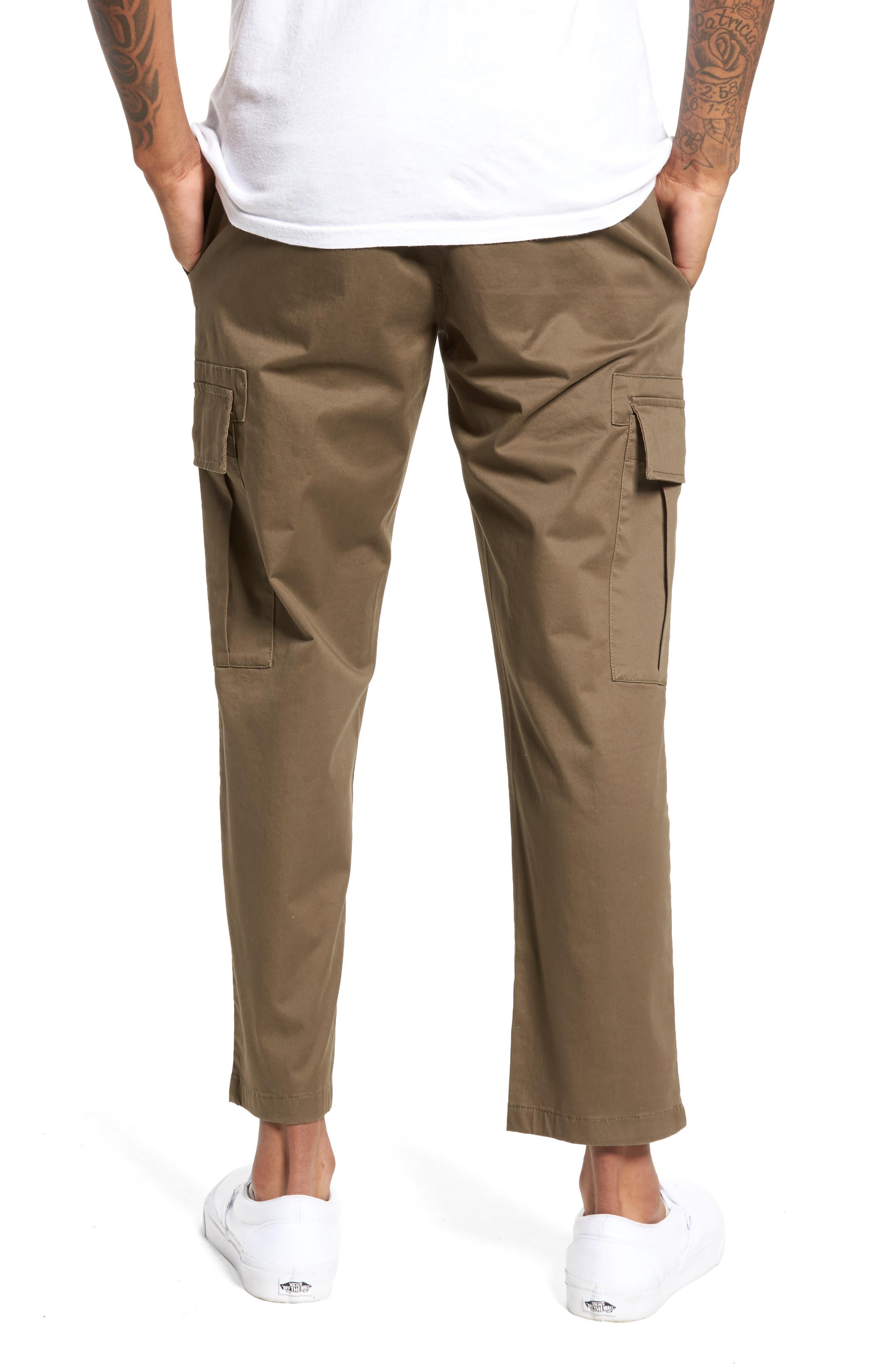 Crop Cargo Pants,                             Alternate thumbnail 2, color,                             311