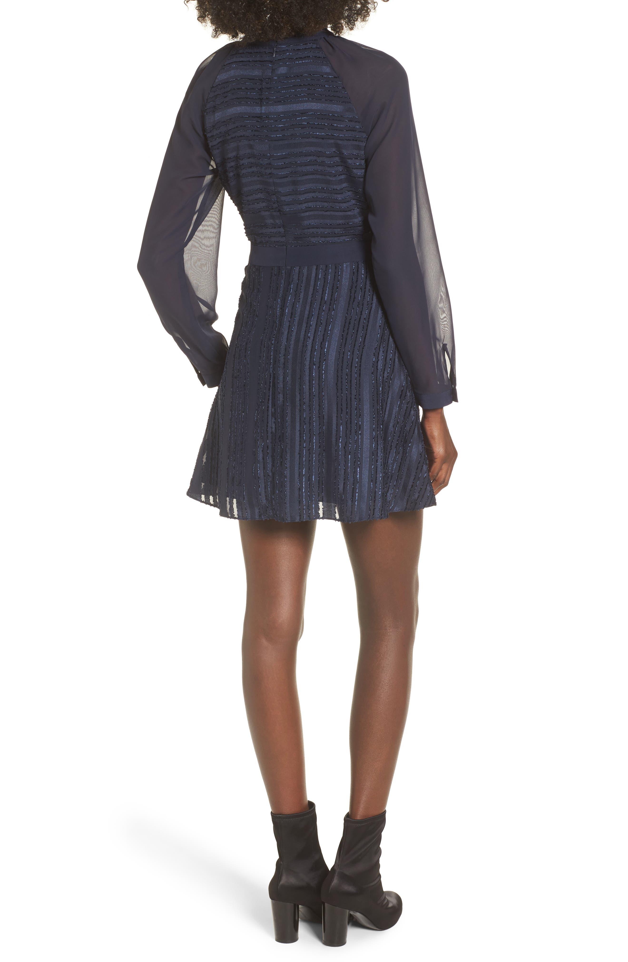 Marge Skater Dress,                             Alternate thumbnail 2, color,                             400