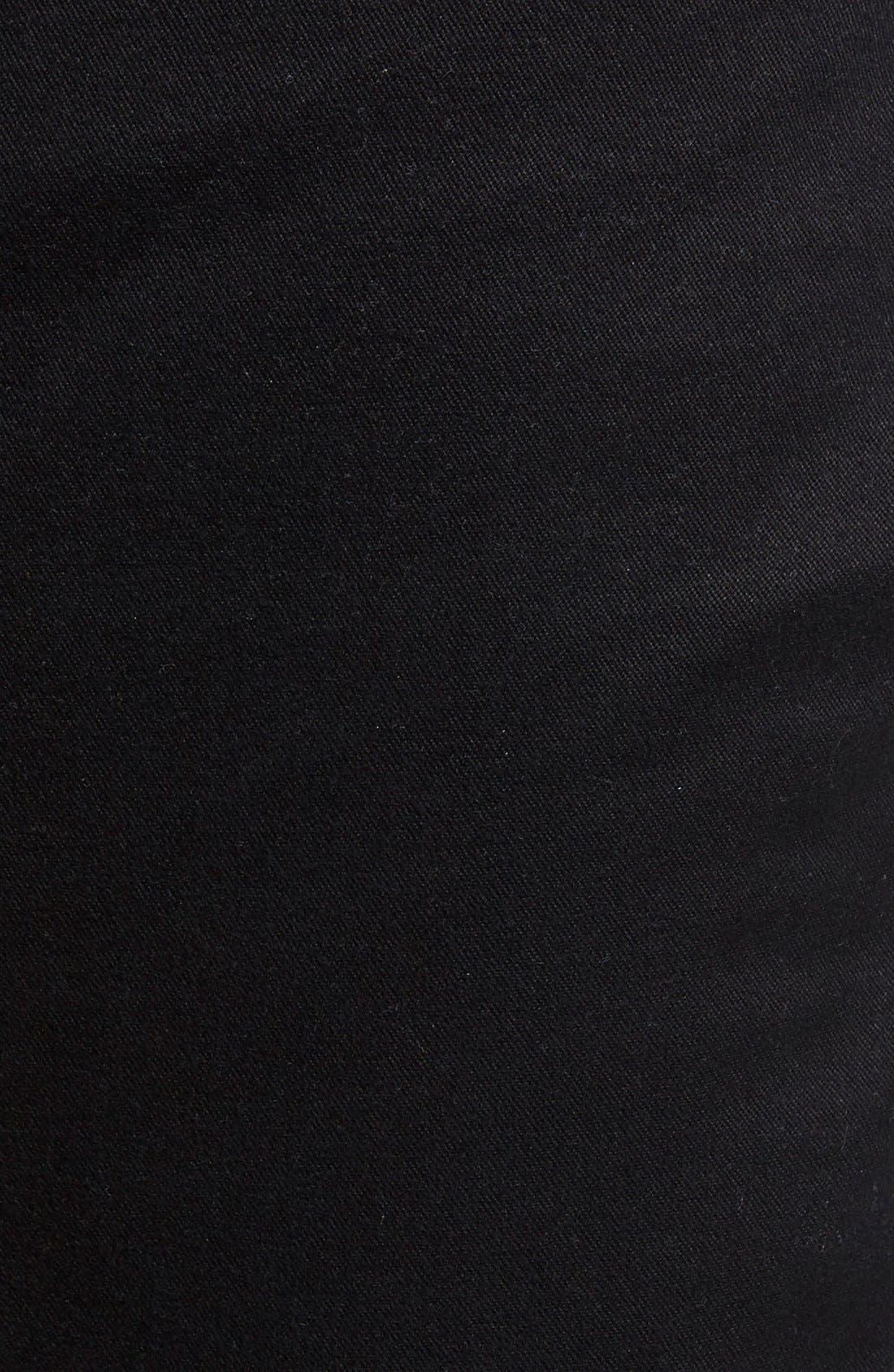 Salerno Stretch Woven Jogger Pants,                             Alternate thumbnail 5, color,                             BLACK