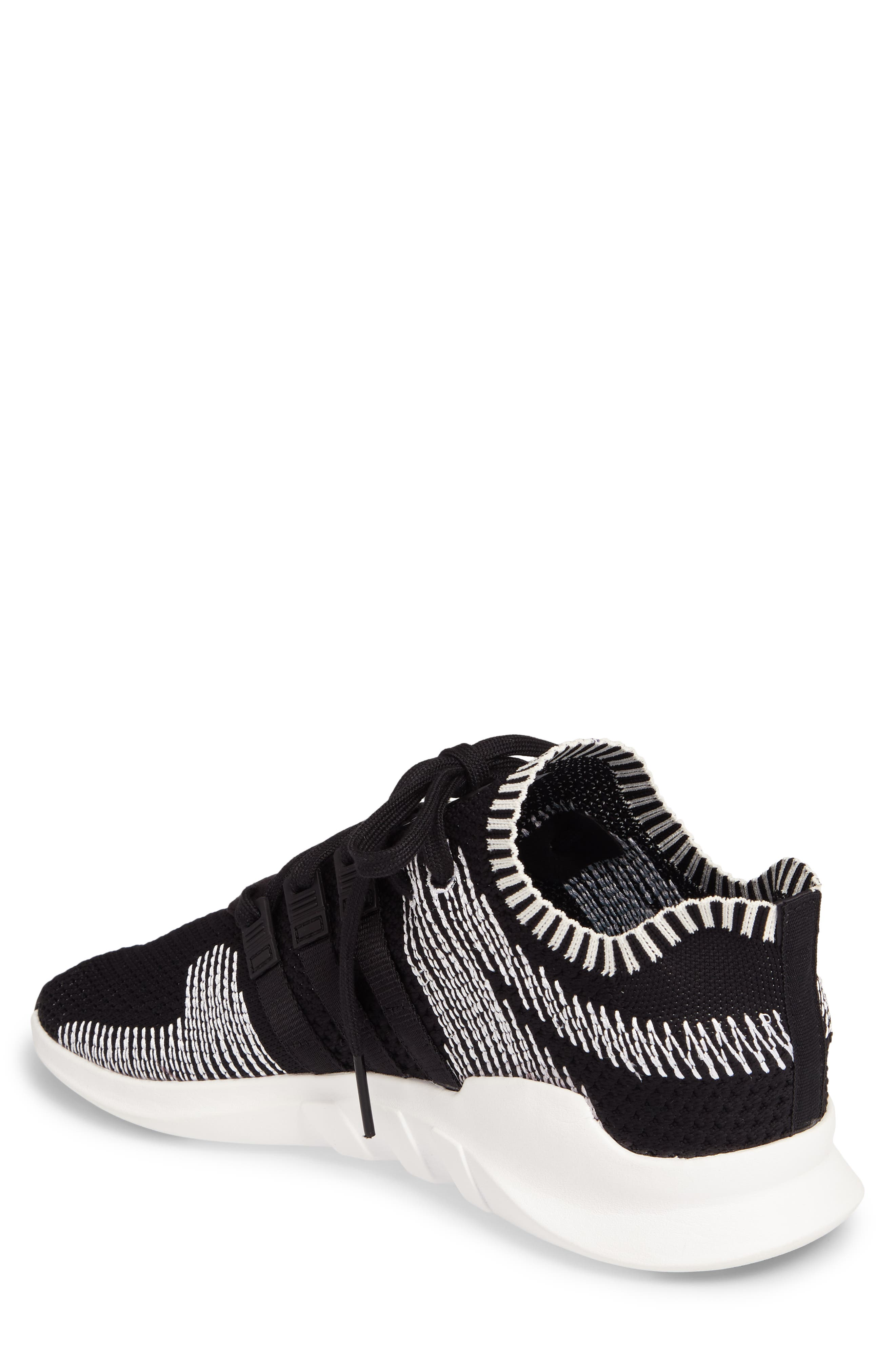 EQT Support ADV PrimeKnit Sneaker,                             Alternate thumbnail 2, color,                             001