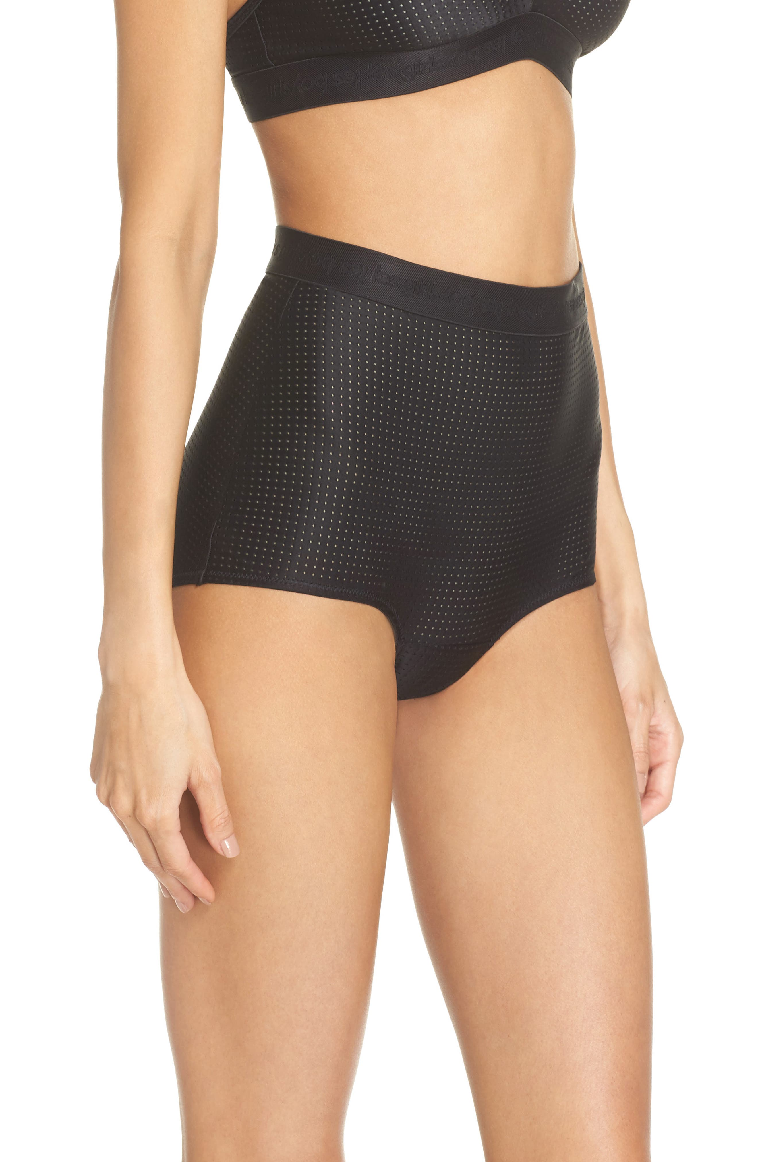 High Waist Briefs,                             Alternate thumbnail 3, color,