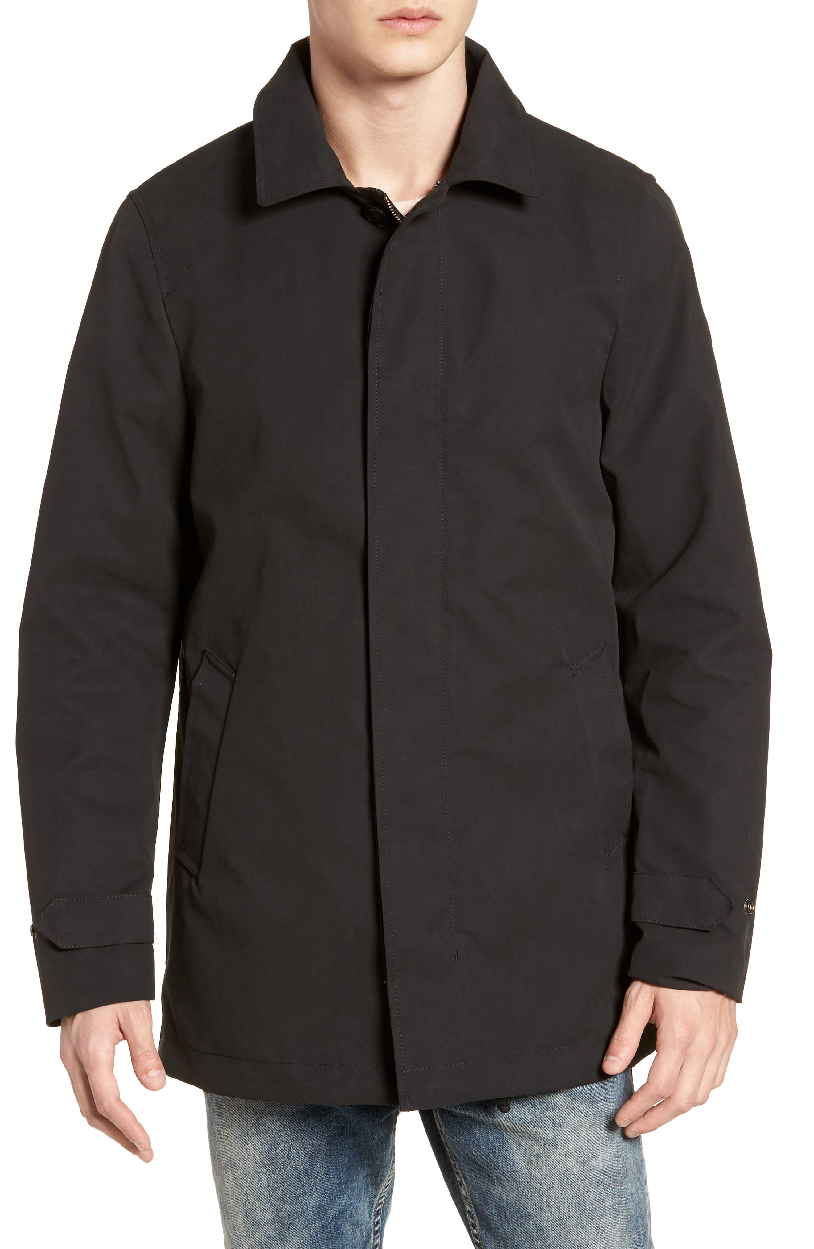 Classic Hooded Parka,                             Alternate thumbnail 8, color,