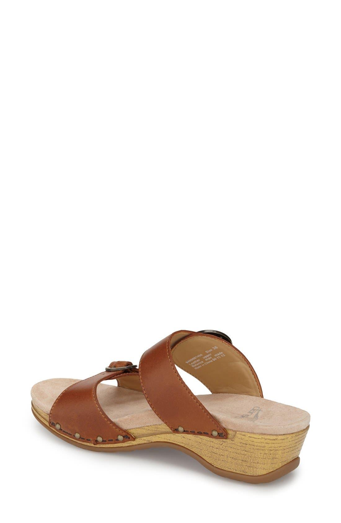 'Manda' Slide Sandal,                             Alternate thumbnail 2, color,                             205