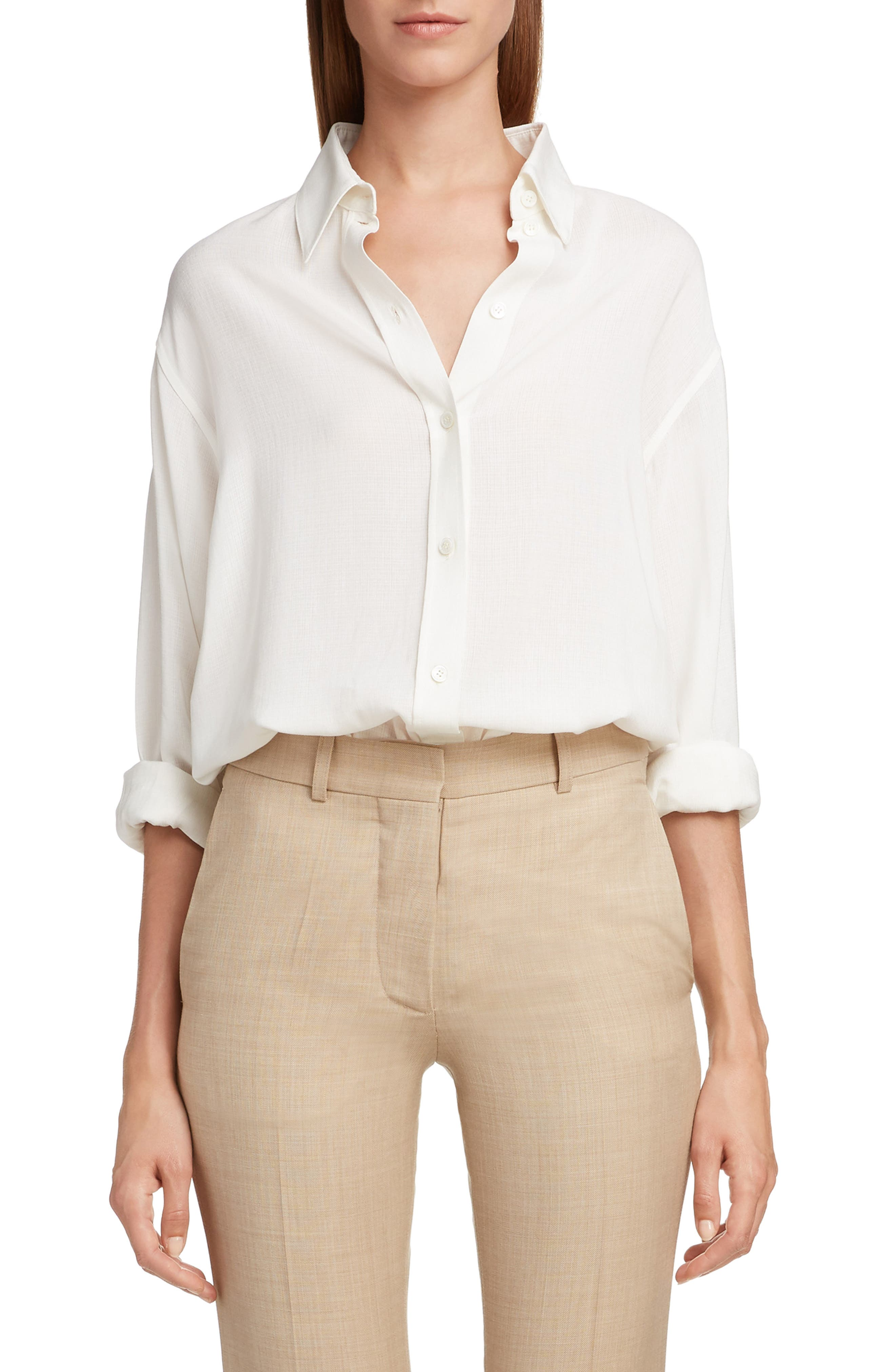 Slash Back Blouse by Victoria Beckham