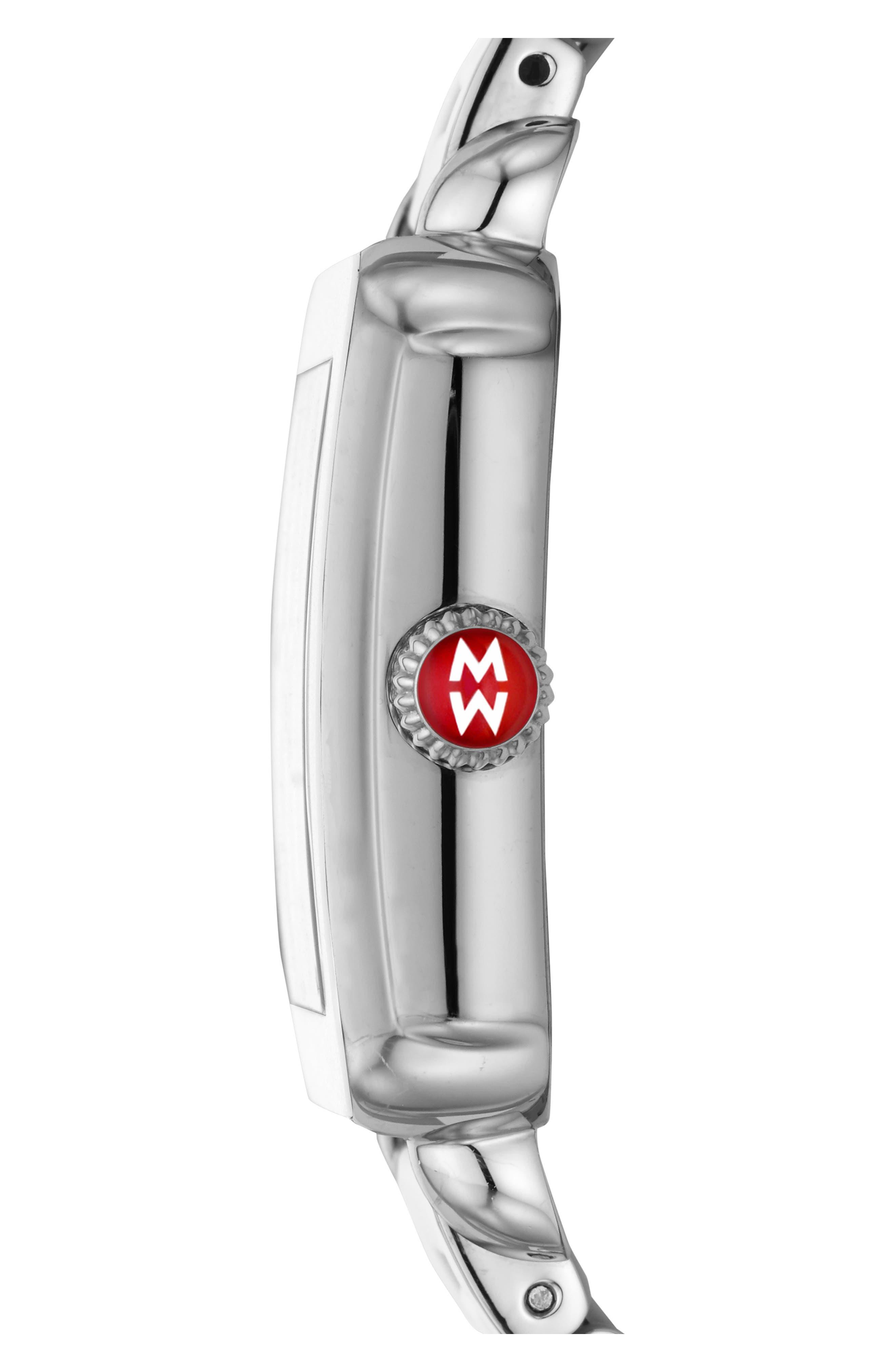 Deco Sport Bracelet Watch, 34mm x 36mm,                             Alternate thumbnail 3, color,                             100