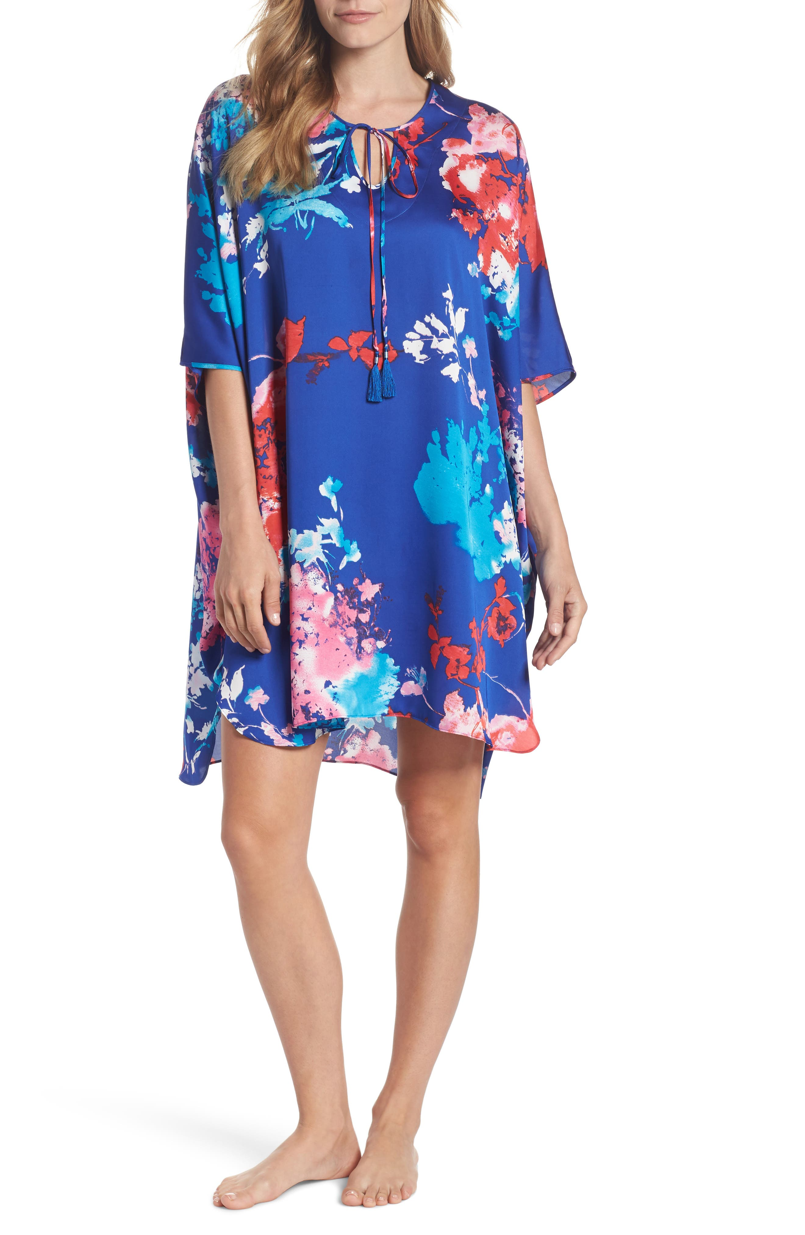Fiji Print Caftan,                         Main,                         color, 405