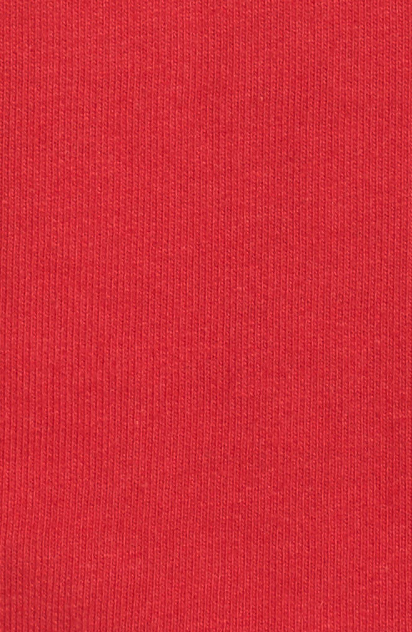 Authentic Crop Sweatshirt,                             Alternate thumbnail 6, color,                             001