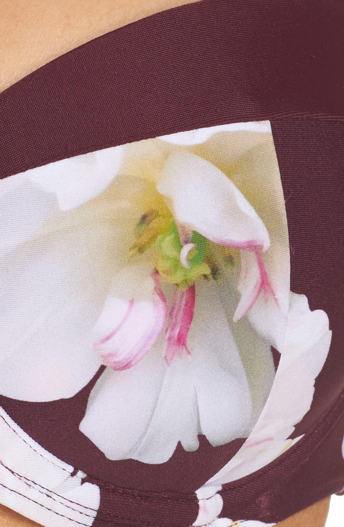 Gardea Gardenia Underwire Bikini Top,                             Alternate thumbnail 5, color,                             930