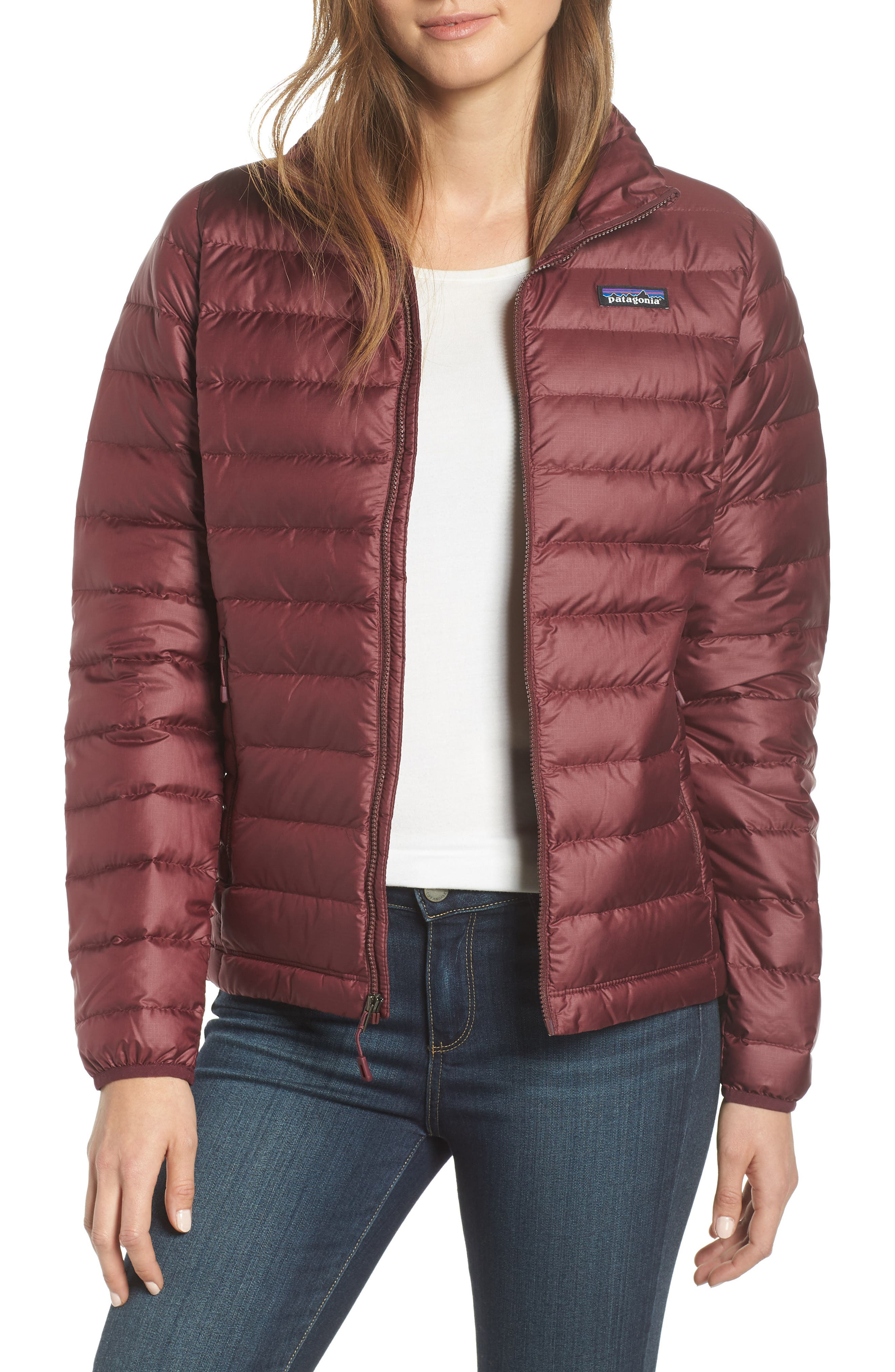 Patagonia Down Jacket, Red
