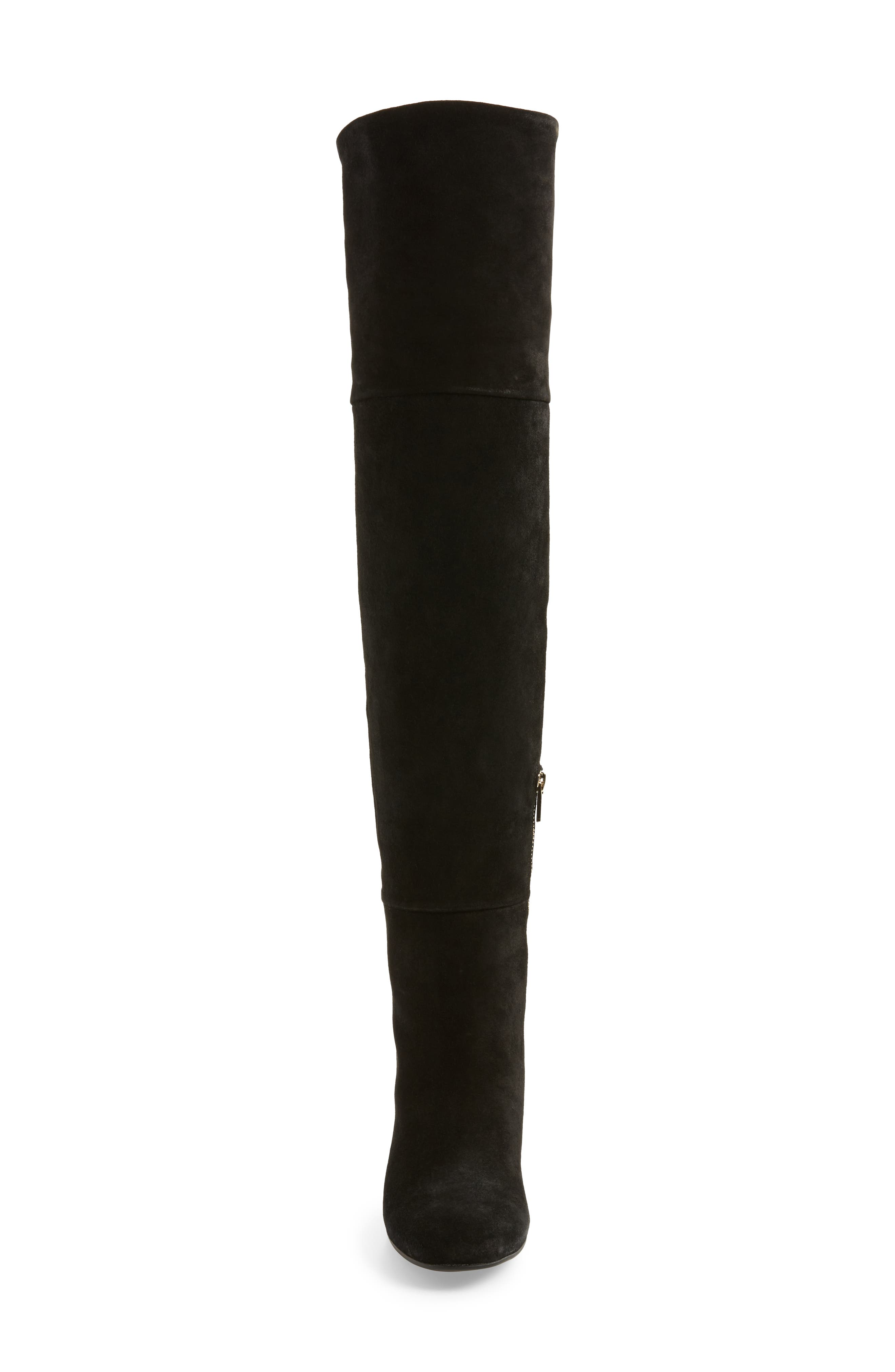 Catherine Over the Knee Boot,                             Alternate thumbnail 4, color,                             004