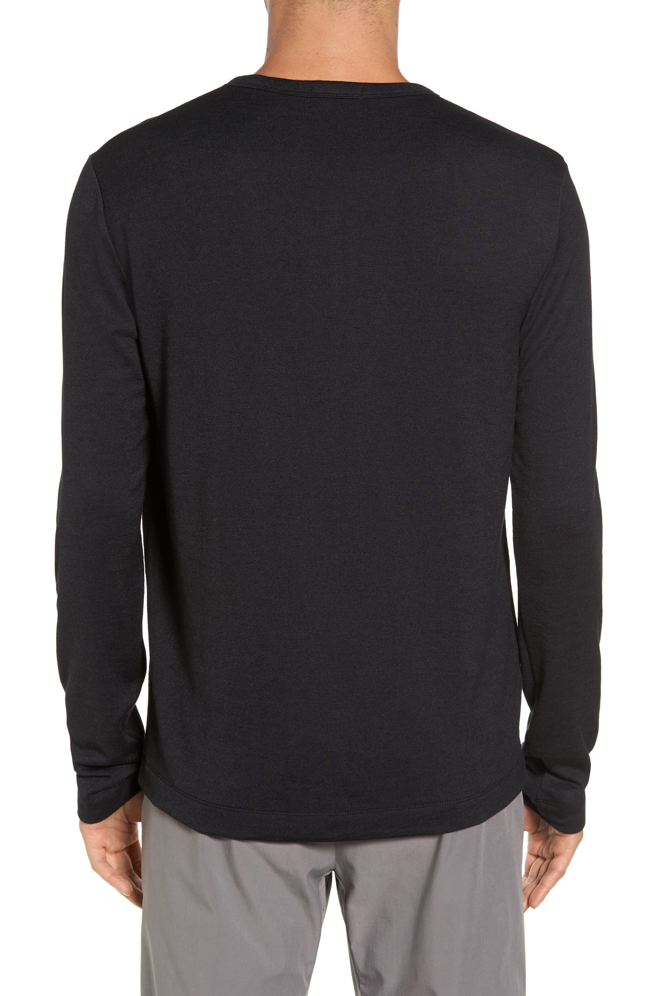 Long Sleeve T-Shirt,                             Alternate thumbnail 2, color,                             008
