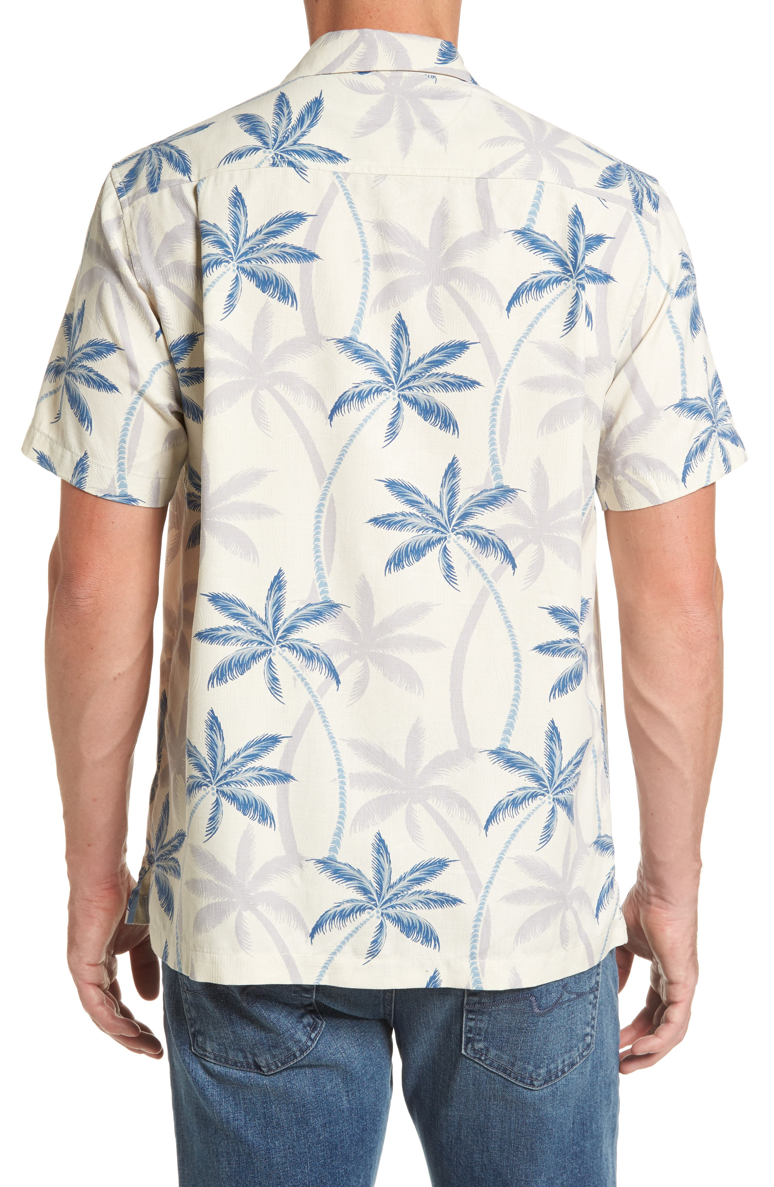 Palmas Palooza Woven Shirt,                             Alternate thumbnail 2, color,                             100