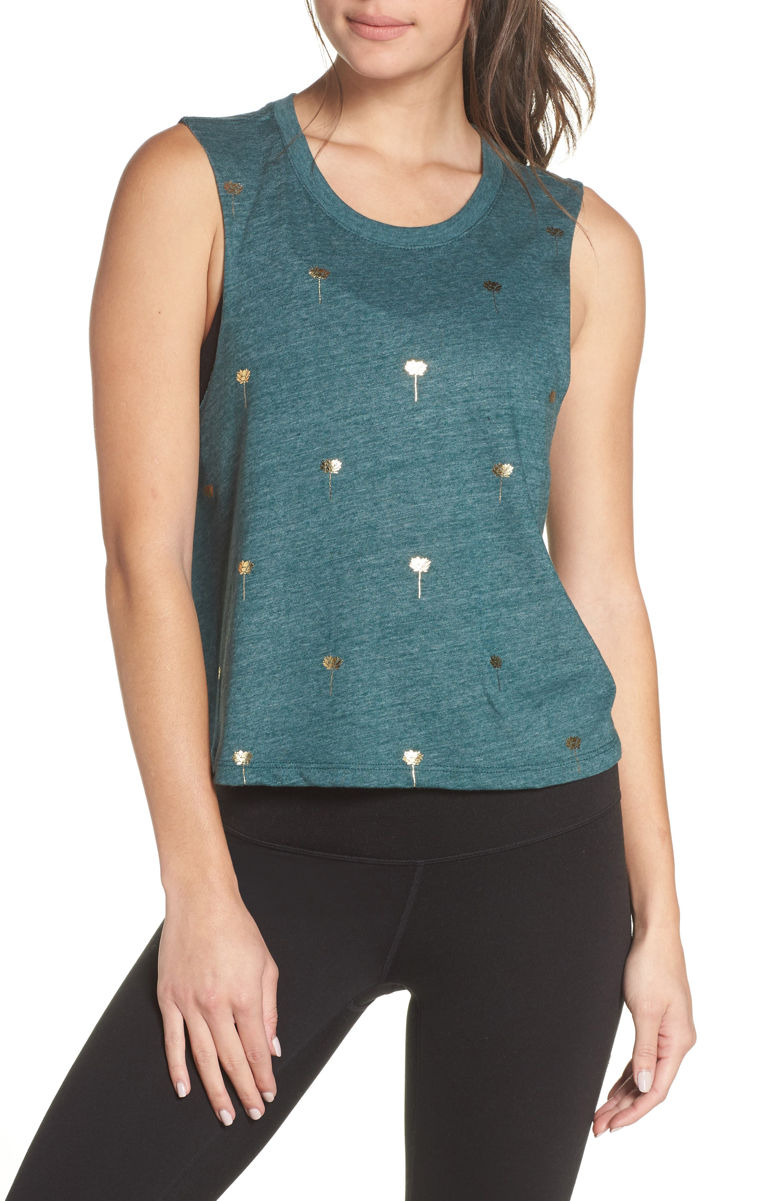 Mini Lotus Crop Tank,                         Main,                         color, 300