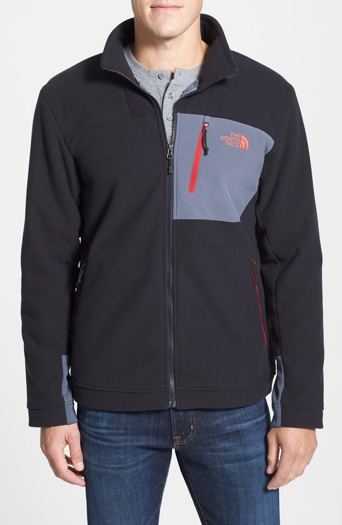 'Chimborazo' Zip Front Fleece Jacket,                             Main thumbnail 6, color,