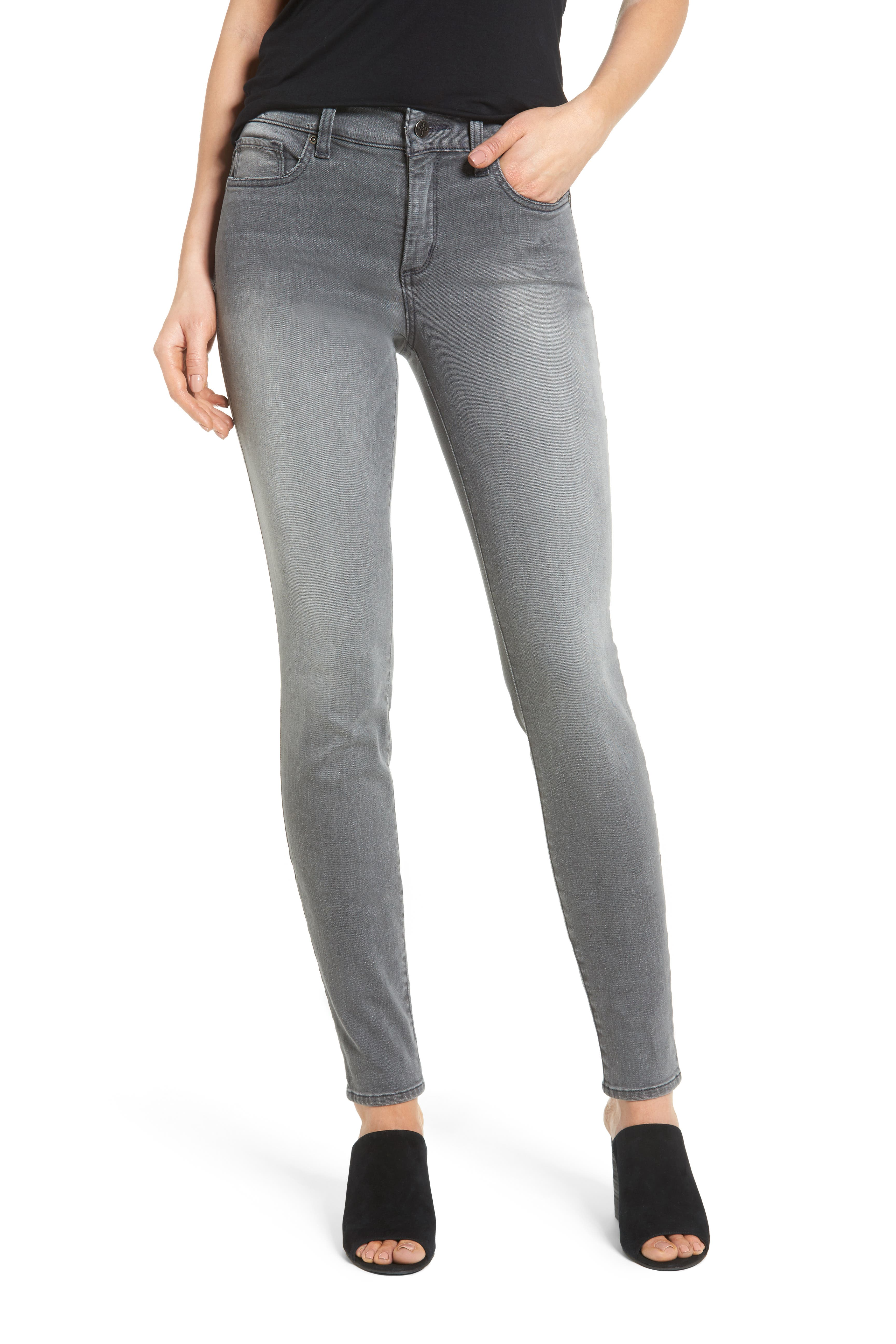 Ami Stretch Skinny Jeans,                             Main thumbnail 1, color,                             035