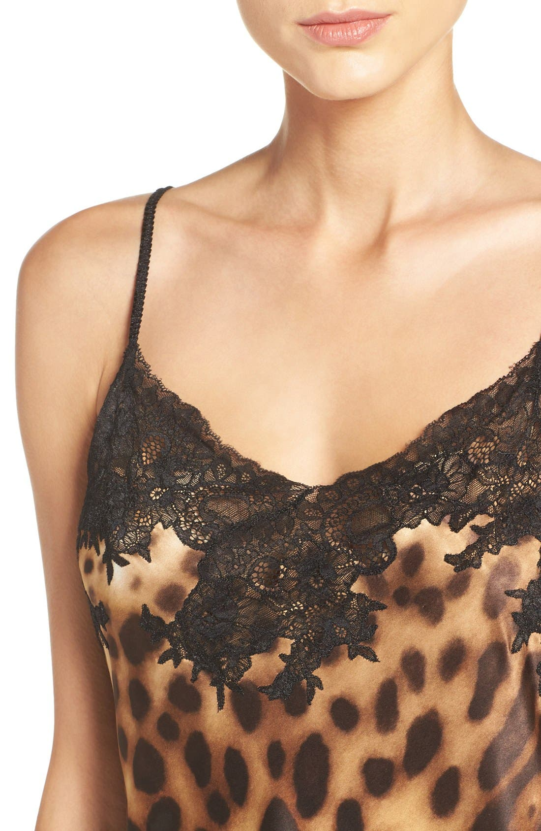 Leopard Nightgown,                             Alternate thumbnail 4, color,                             200