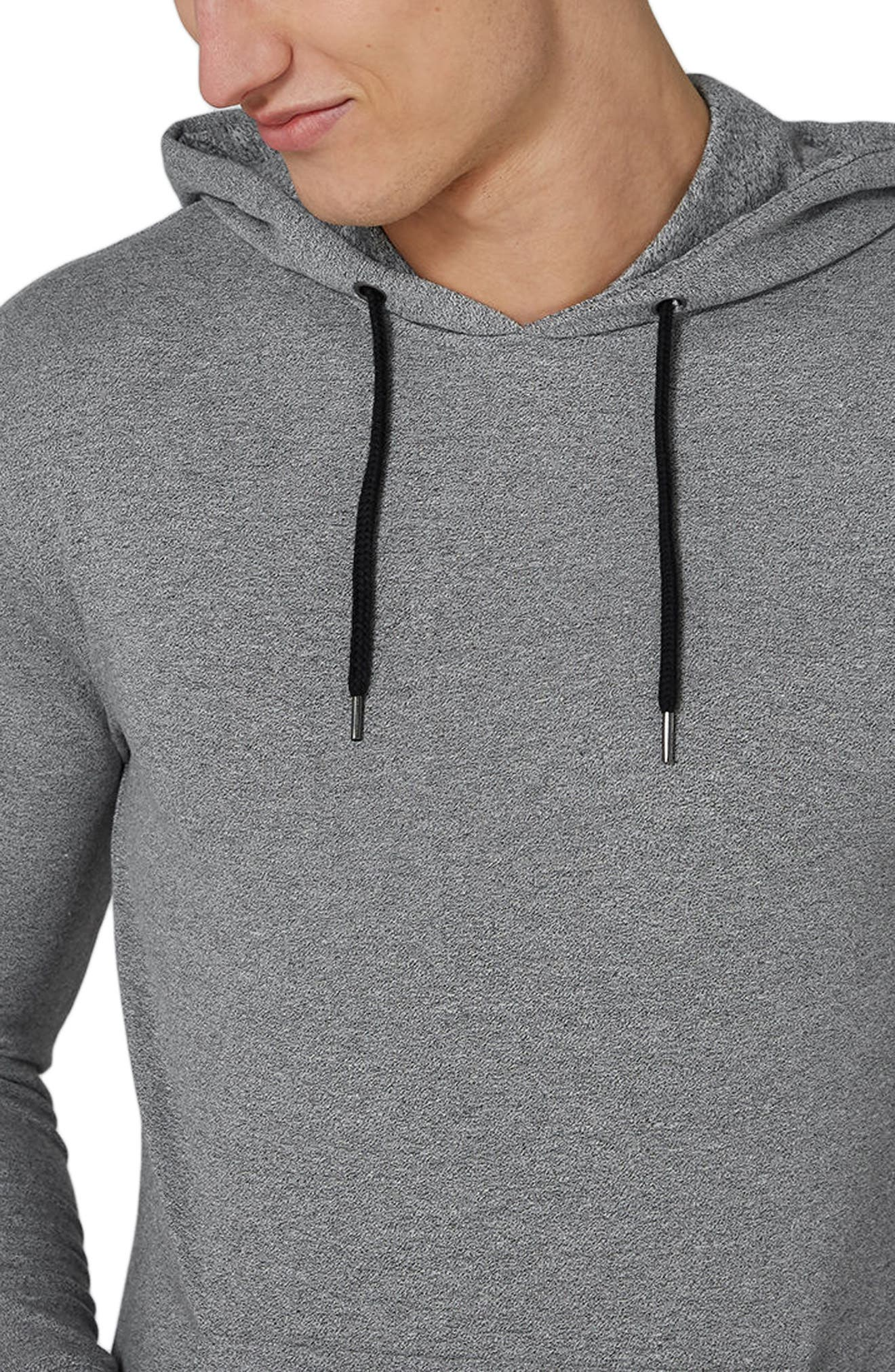 Muscle Fit Hoodie,                             Alternate thumbnail 3, color,                             020