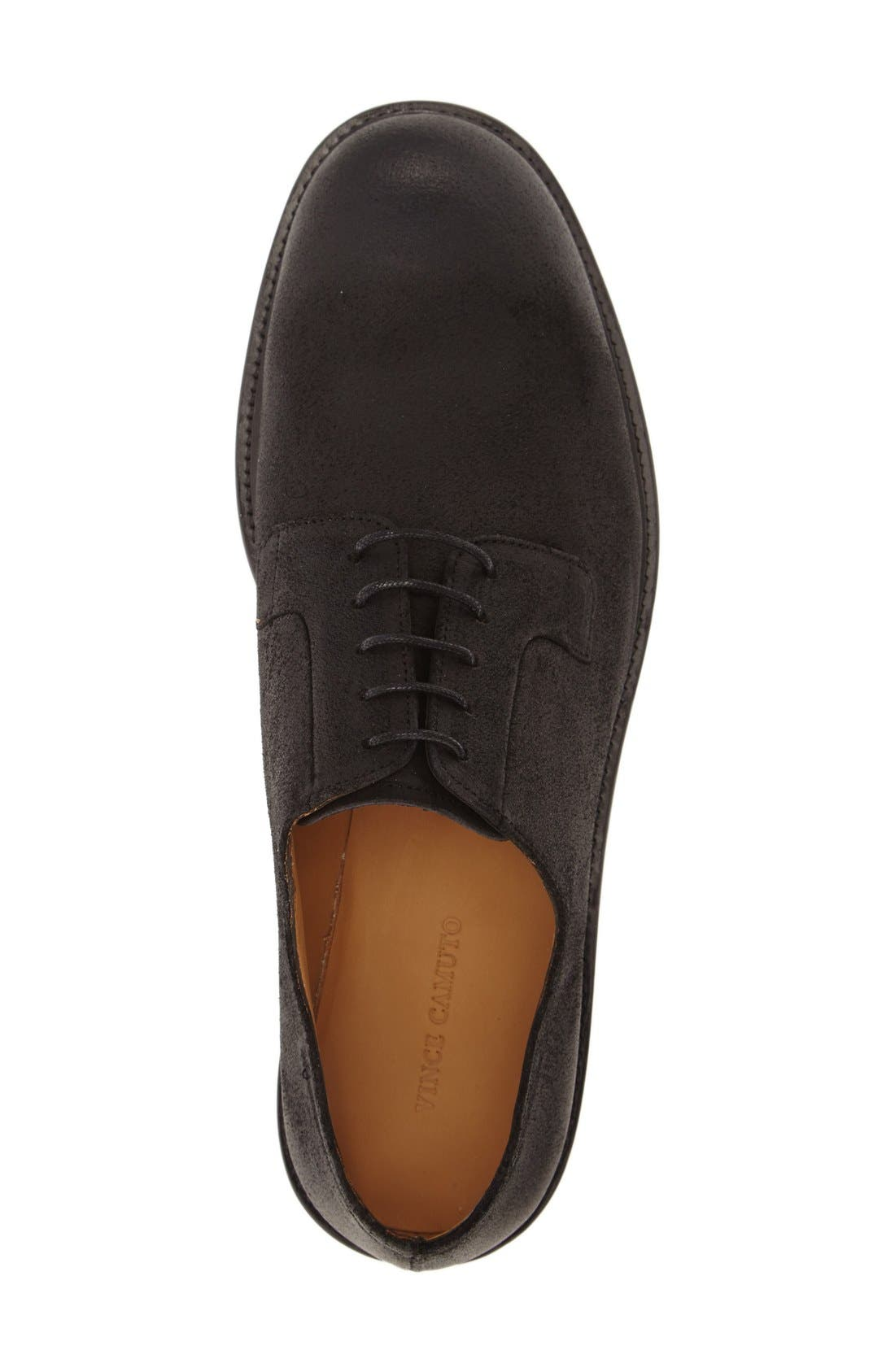 'Samtin' Plain Toe Blucher,                             Alternate thumbnail 5, color,