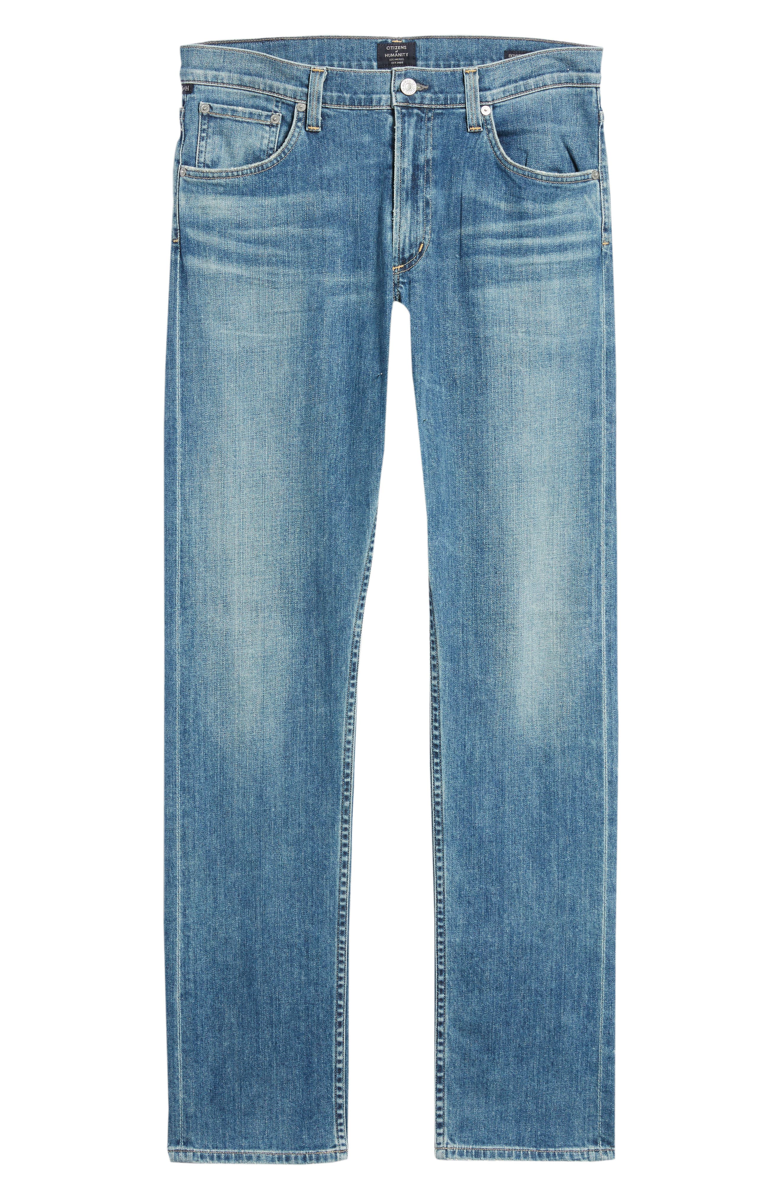 Bowery Slim Fit Jeans,                             Alternate thumbnail 6, color,                             ALAND