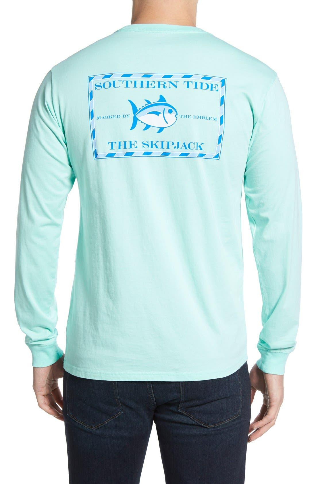 'Skipjack'Long Sleeve Graphic T-Shirt,                             Main thumbnail 5, color,