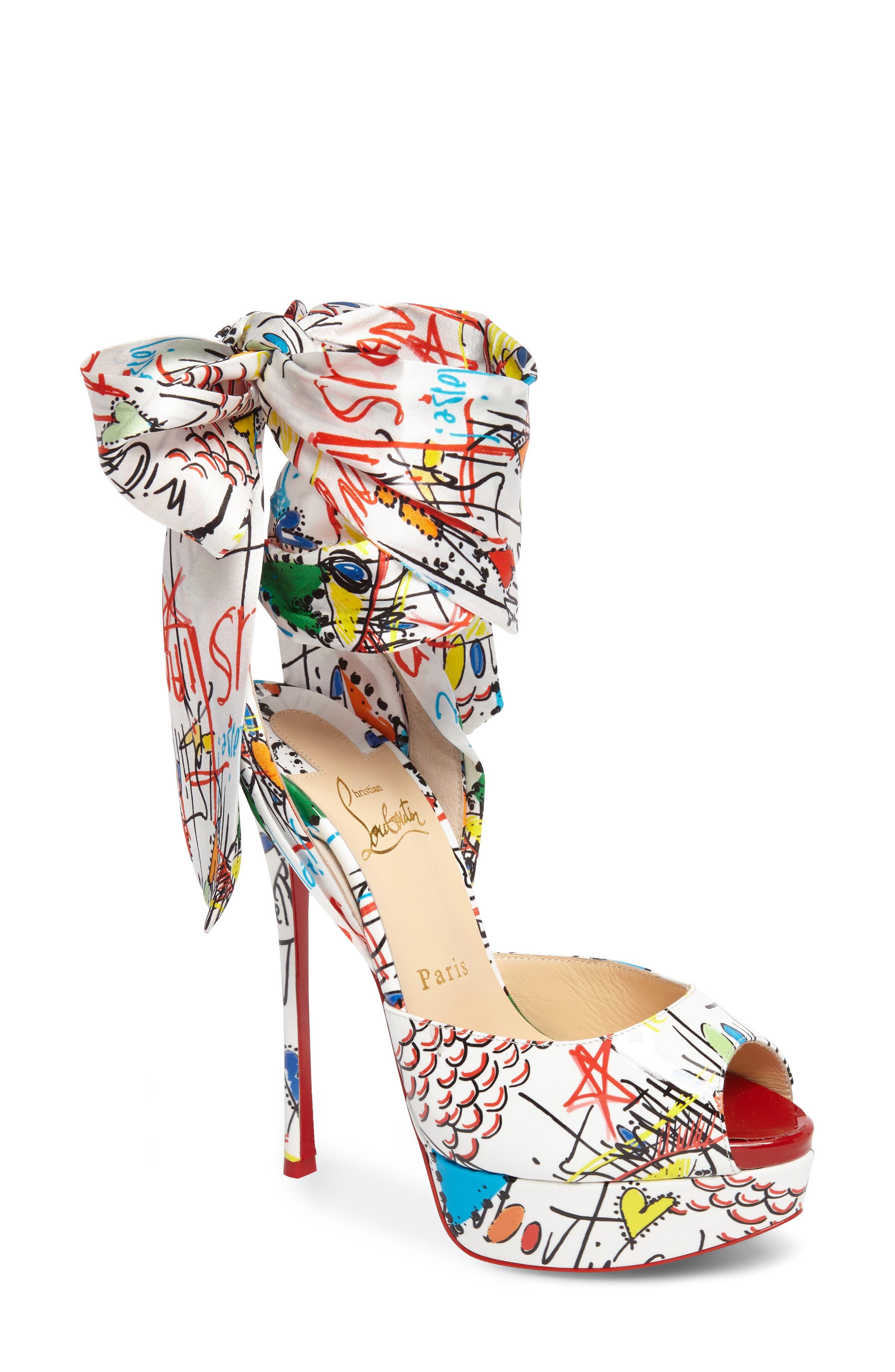 Loubitag Sandal,                         Main,                         color, 100