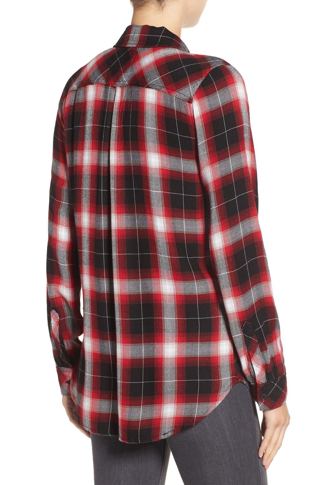 Hunter Plaid Shirt,                             Alternate thumbnail 266, color,