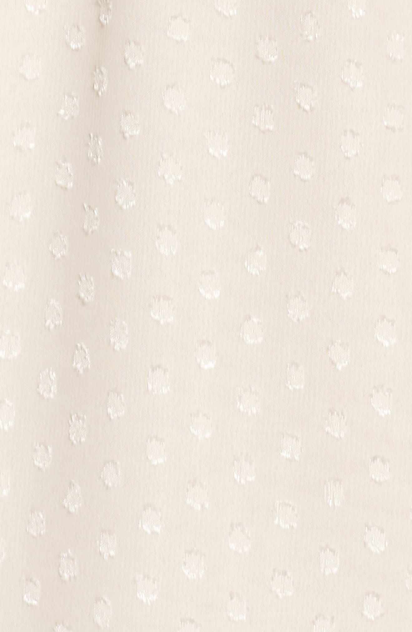 Tie Sleeve Cold Shoulder Maxi Dress,                             Alternate thumbnail 6, color,                             901