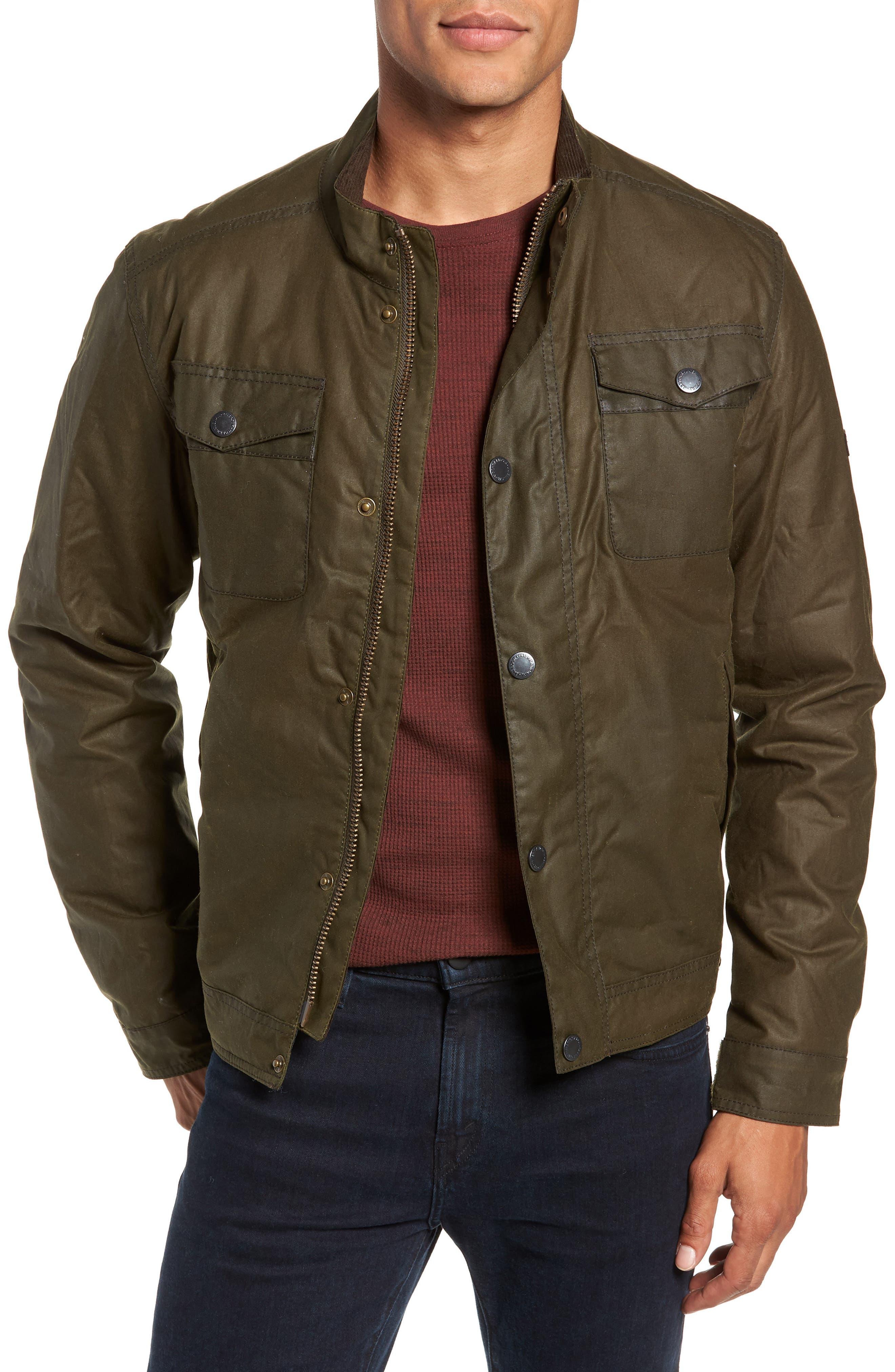 Barbour International Hatch Waxed Jacket