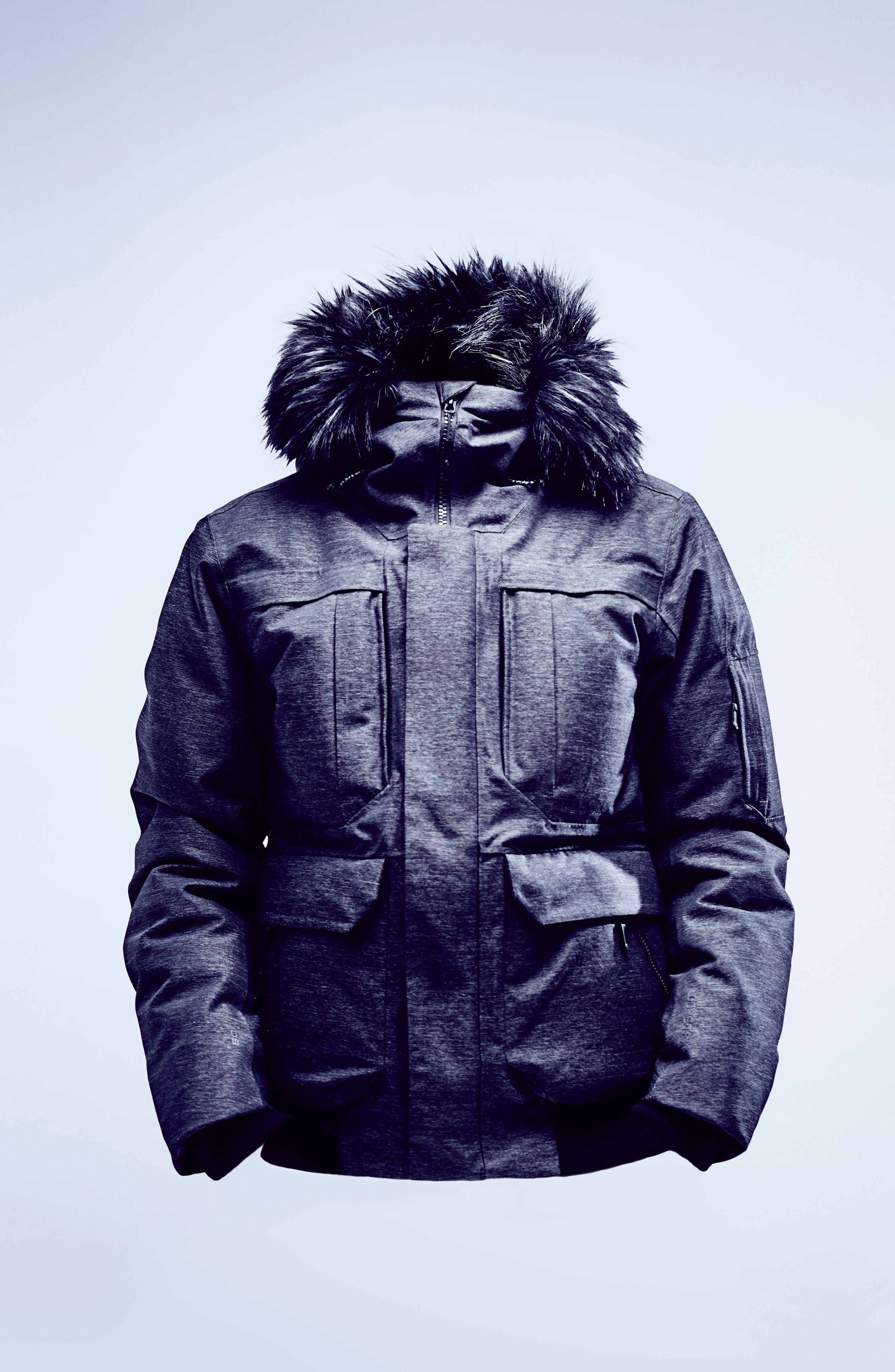 Cryos Expedition Gore-Tex<sup>®</sup> Bomber Jacket,                             Alternate thumbnail 19, color,