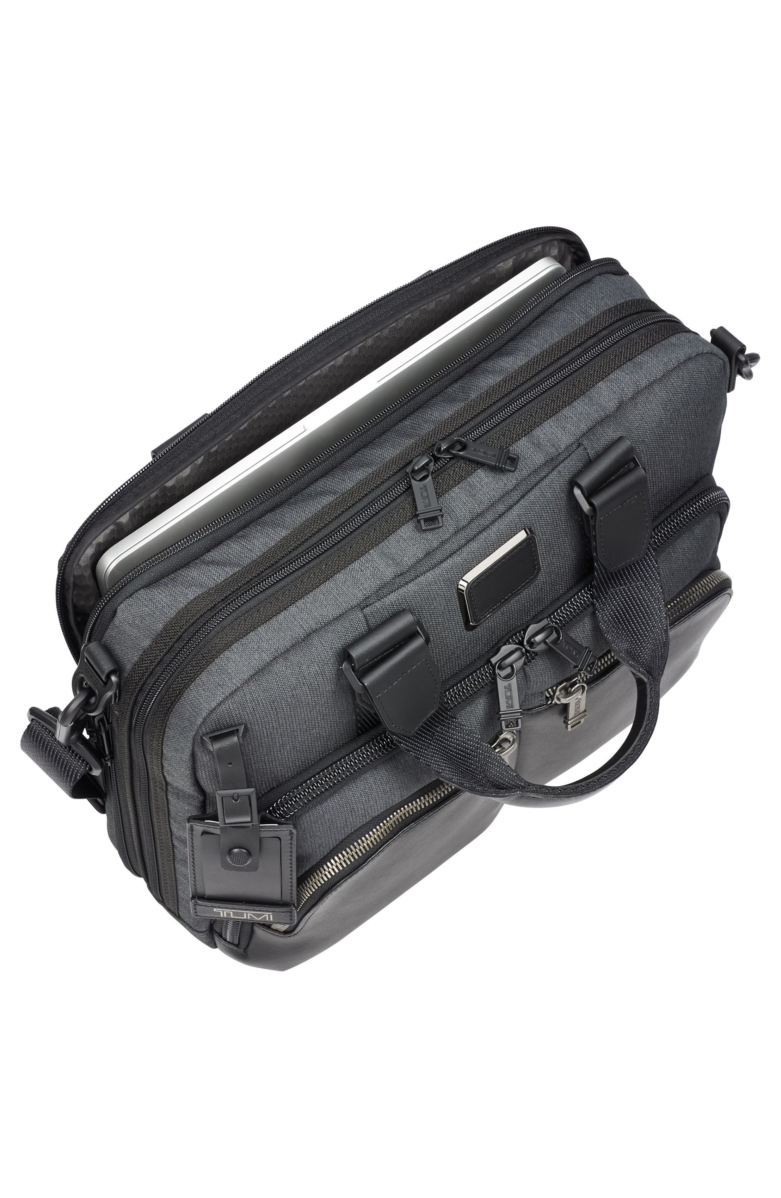 Albany - Slim Commuter Briefcase,                             Alternate thumbnail 5, color,                             ANTHRACITE