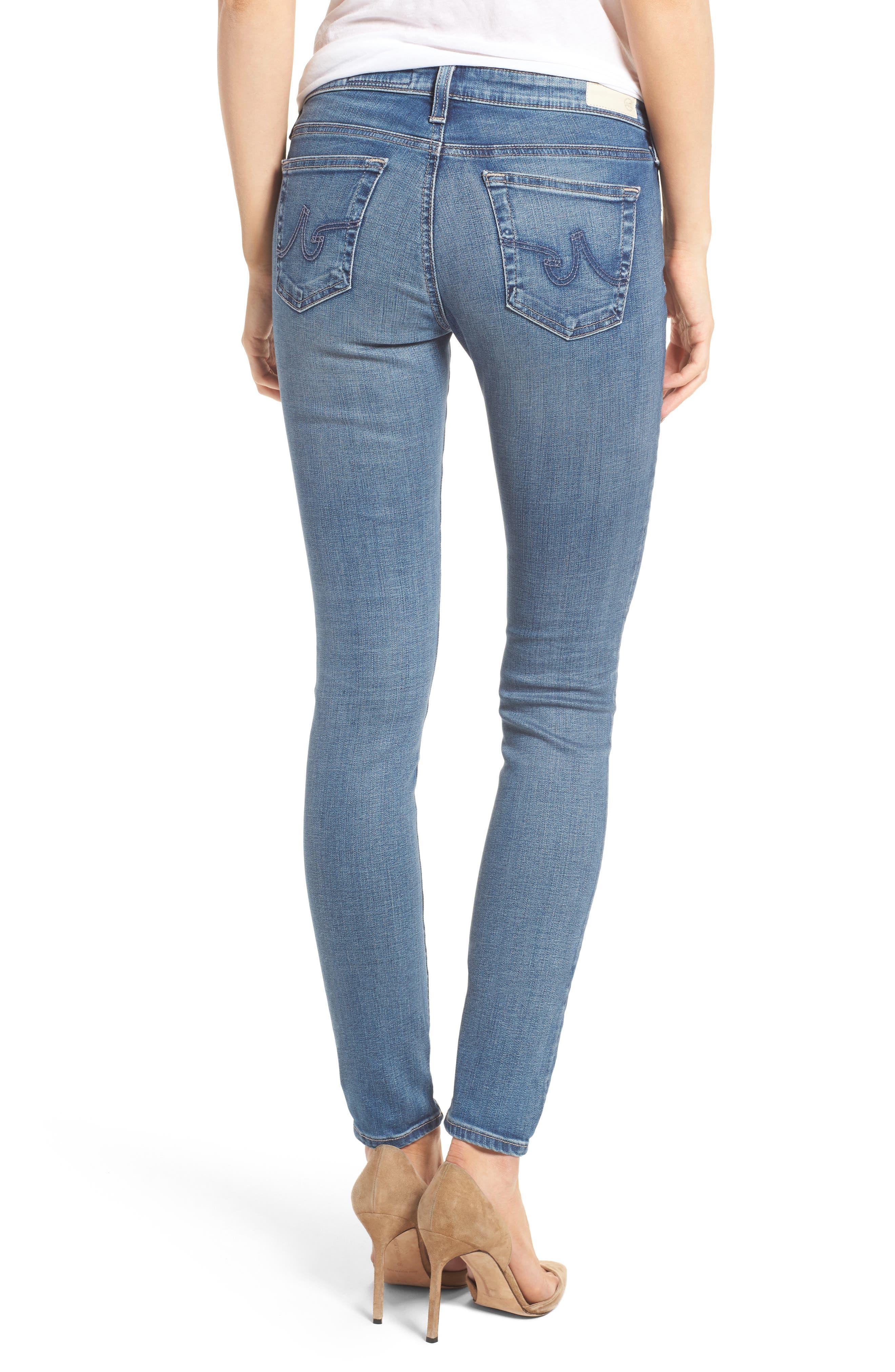 'The Legging' Super Skinny Jeans,                             Main thumbnail 10, color,