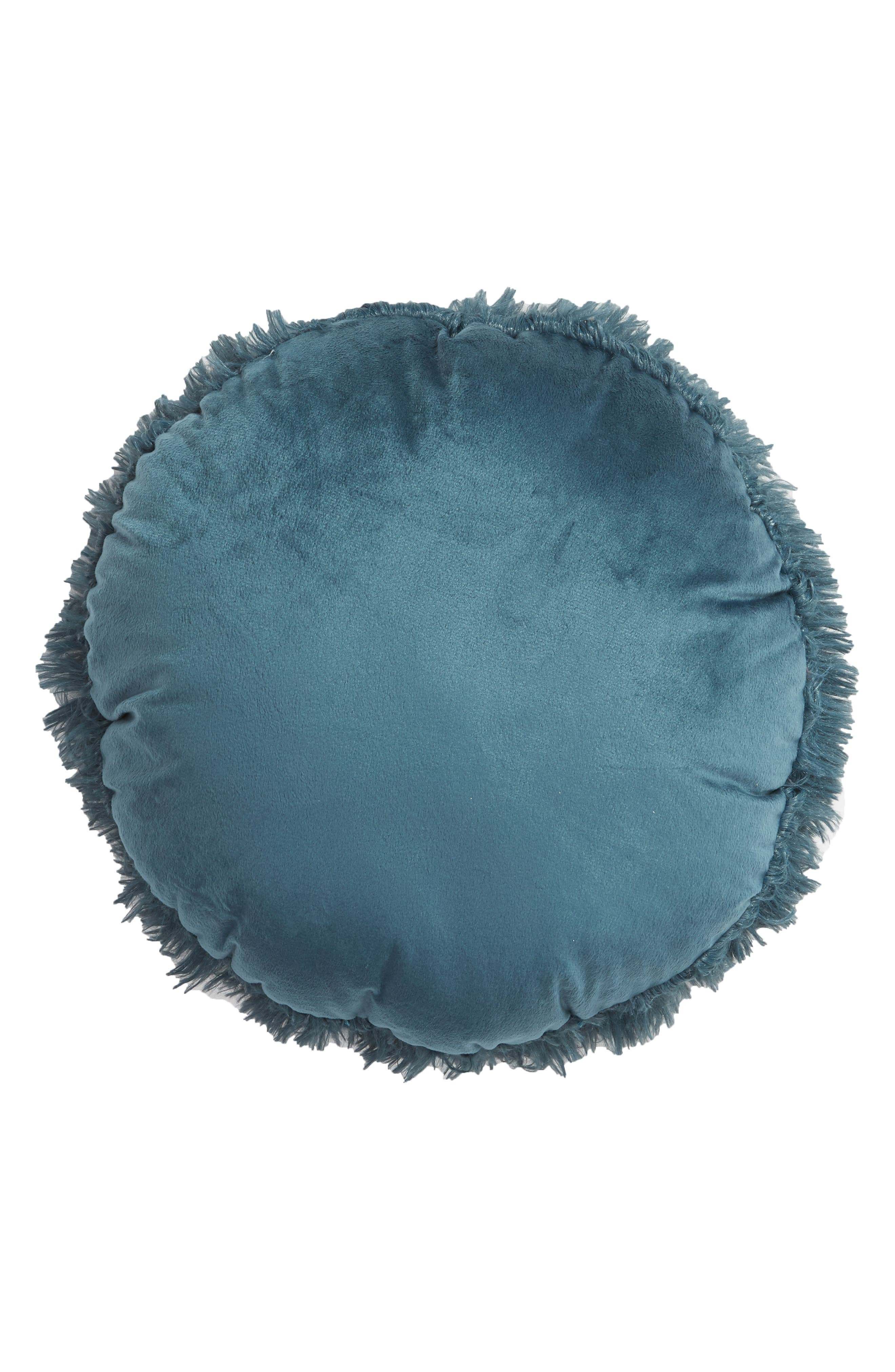 Feather Faux Fur Pillow,                             Alternate thumbnail 11, color,