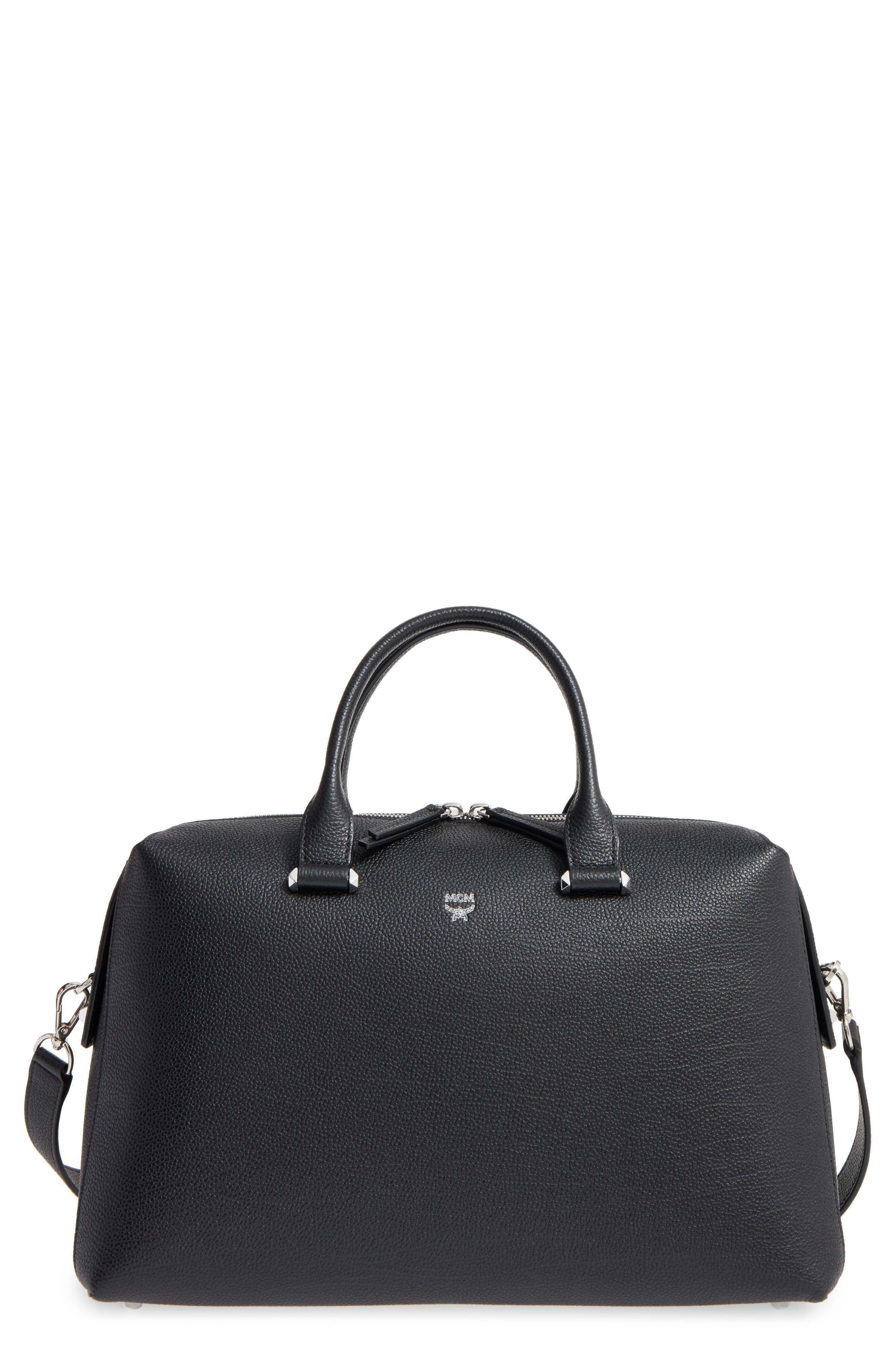 Large Ella Boston Bowler Bag, Main, color, 001