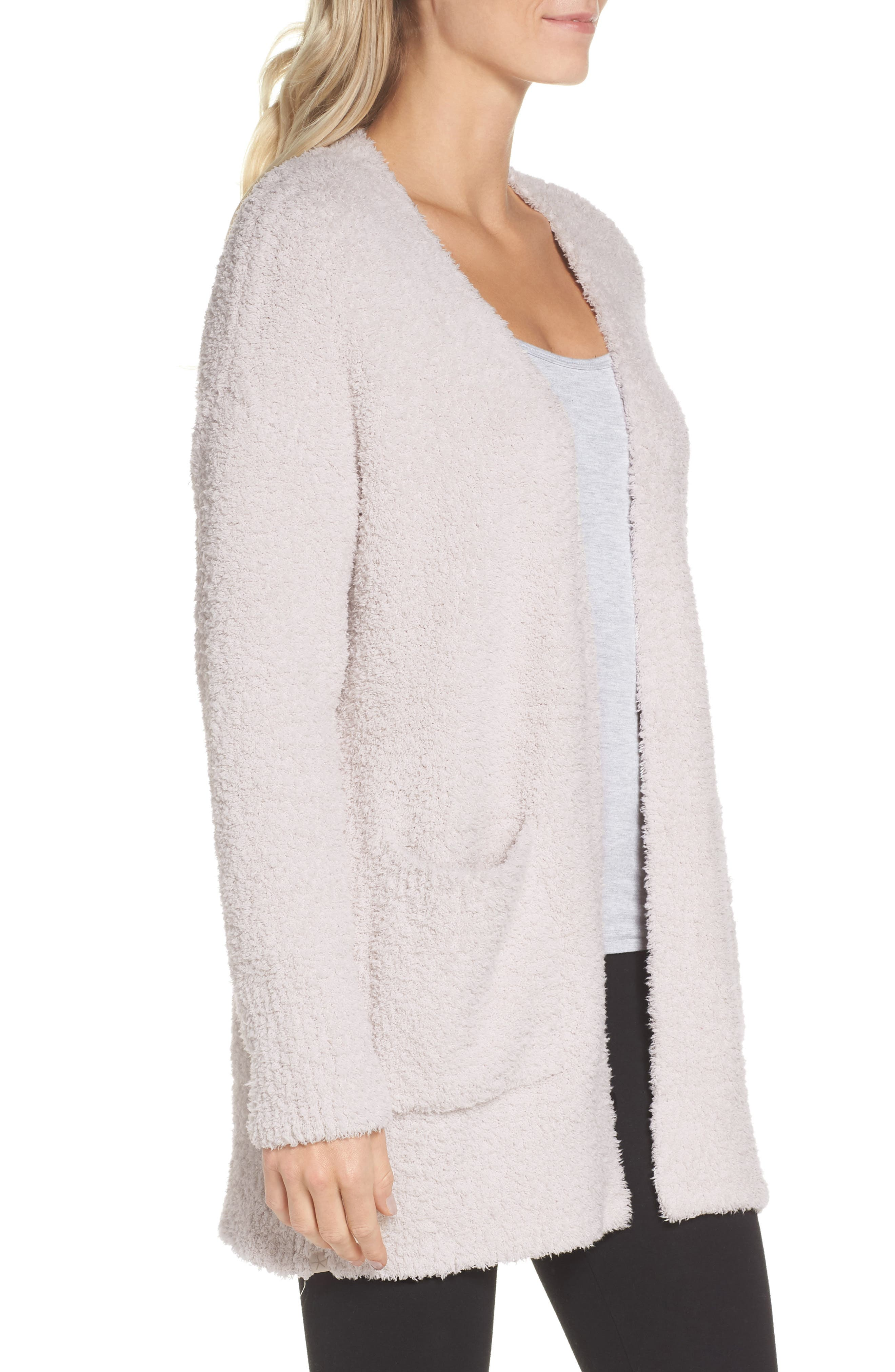 CozyChic<sup>®</sup> Cardigan,                             Alternate thumbnail 3, color,                             ALMOND