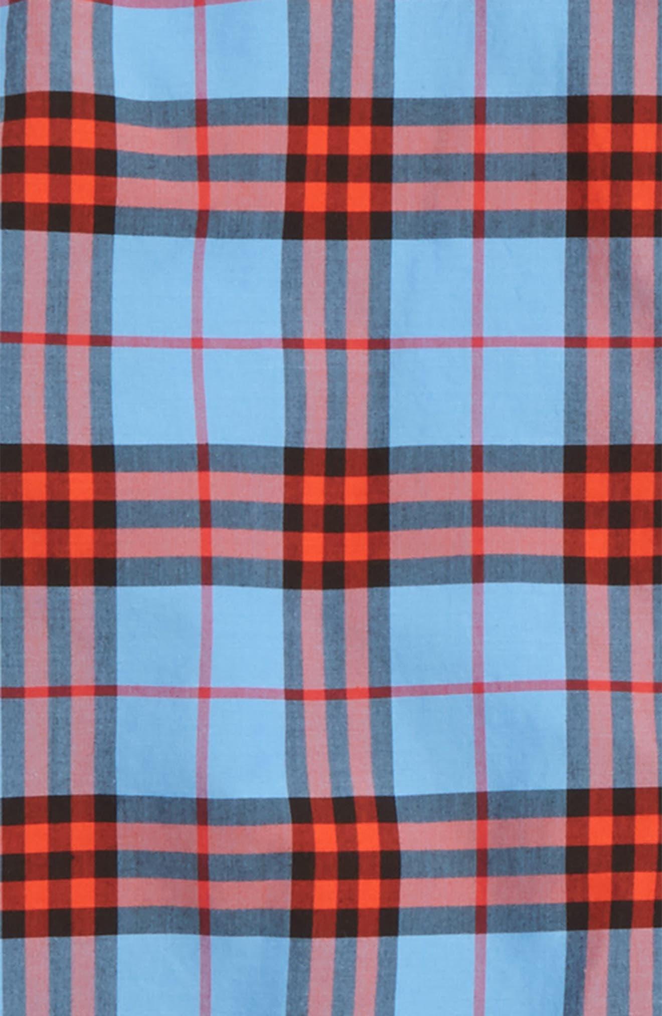 Clarkey Plaid Woven Shirt,                             Alternate thumbnail 2, color,                             428