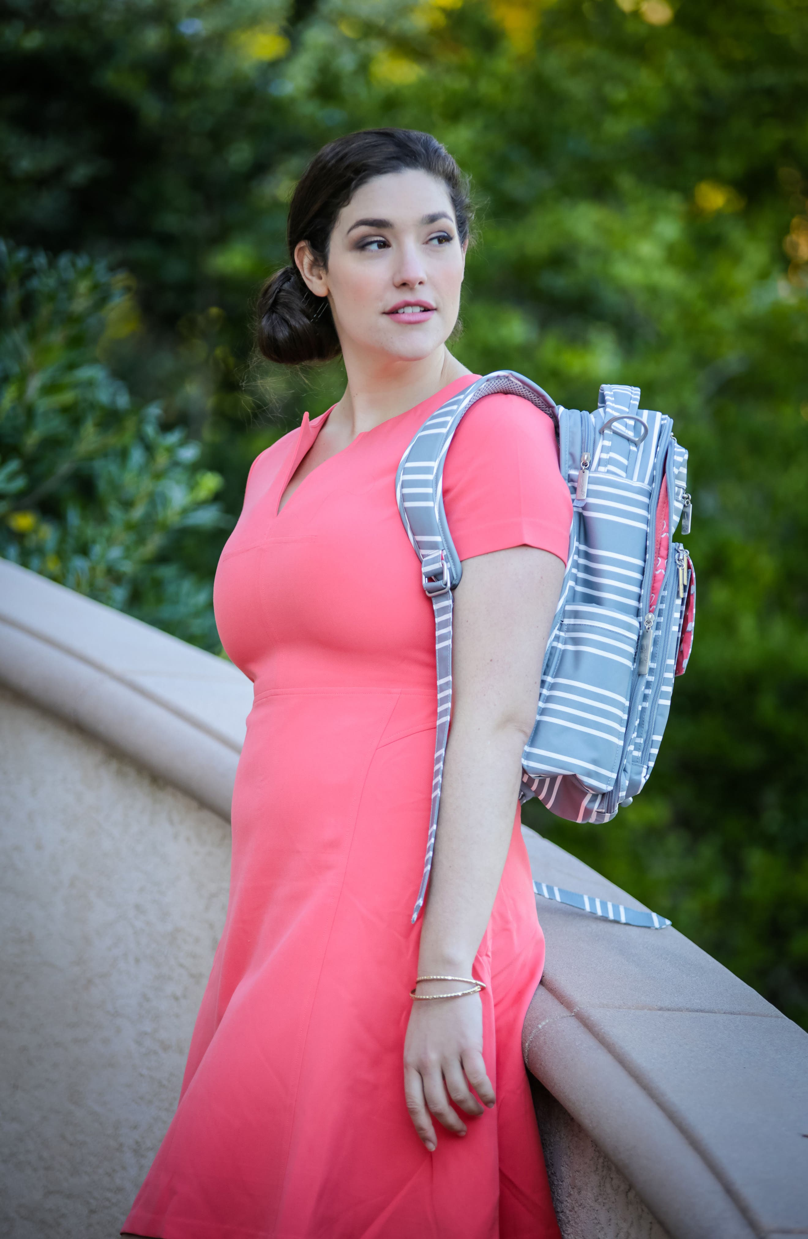 Be Right Back - Coastal Collection Diaper Backpack,                             Alternate thumbnail 5, color,                             042