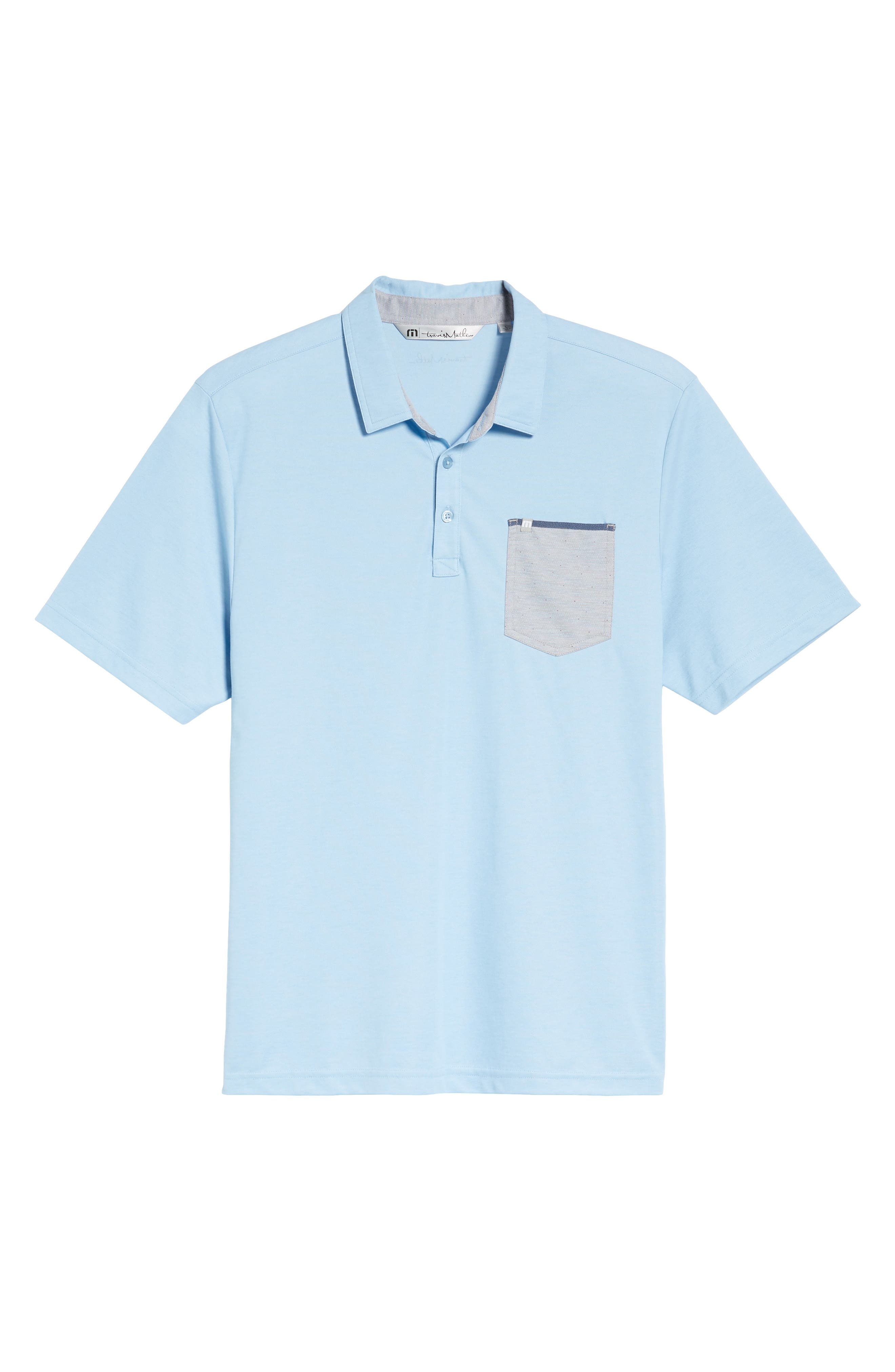 Freeburg Pocket Polo,                             Alternate thumbnail 6, color,                             400