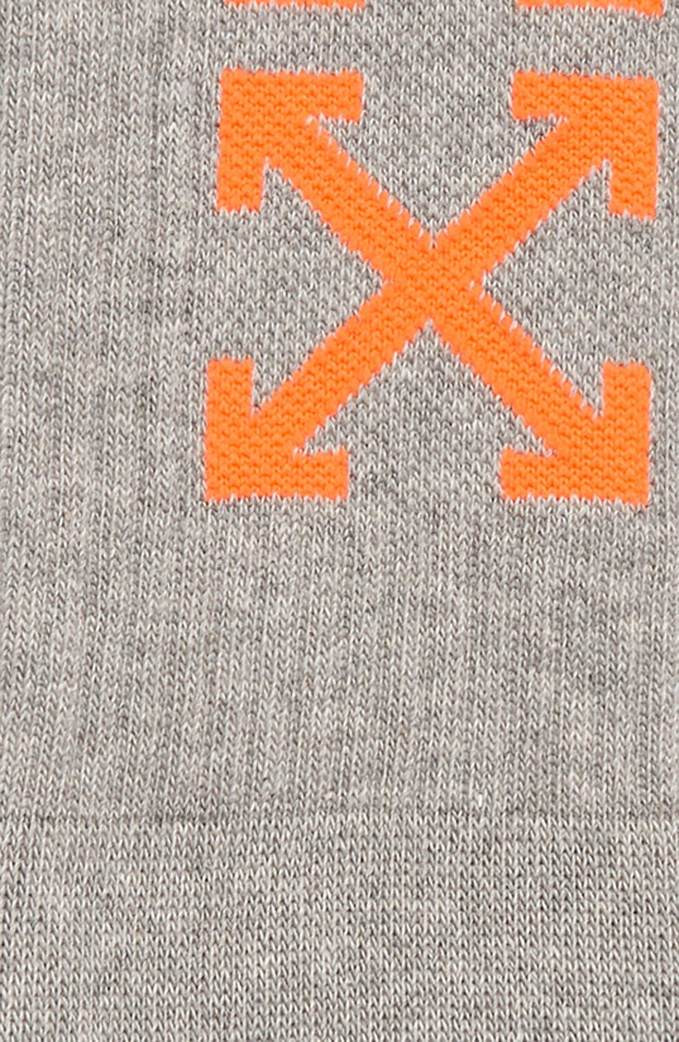 OFF-WHITE,                             Arrow Socks,                             Alternate thumbnail 2, color,                             020