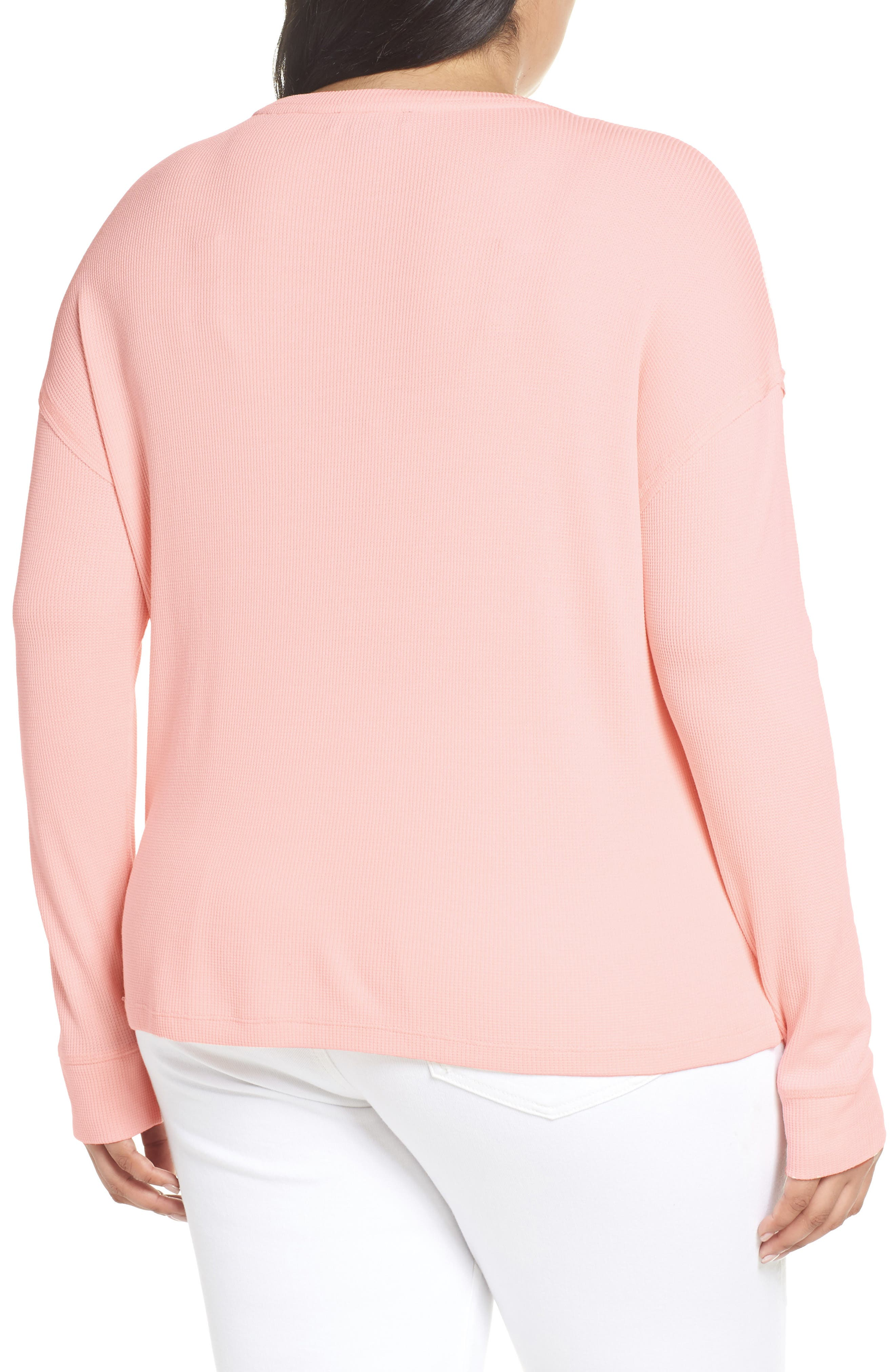 Daybreak Thermal Tee,                             Alternate thumbnail 2, color,                             PINK FIZZ