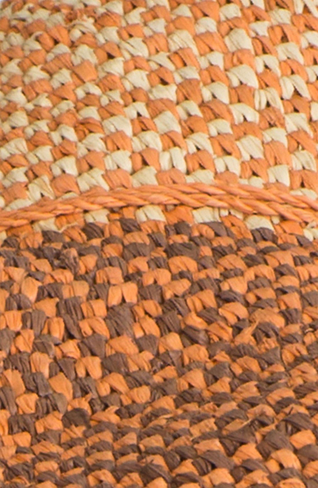 'Provence 12' Packable Raffia Hat,                             Alternate thumbnail 20, color,