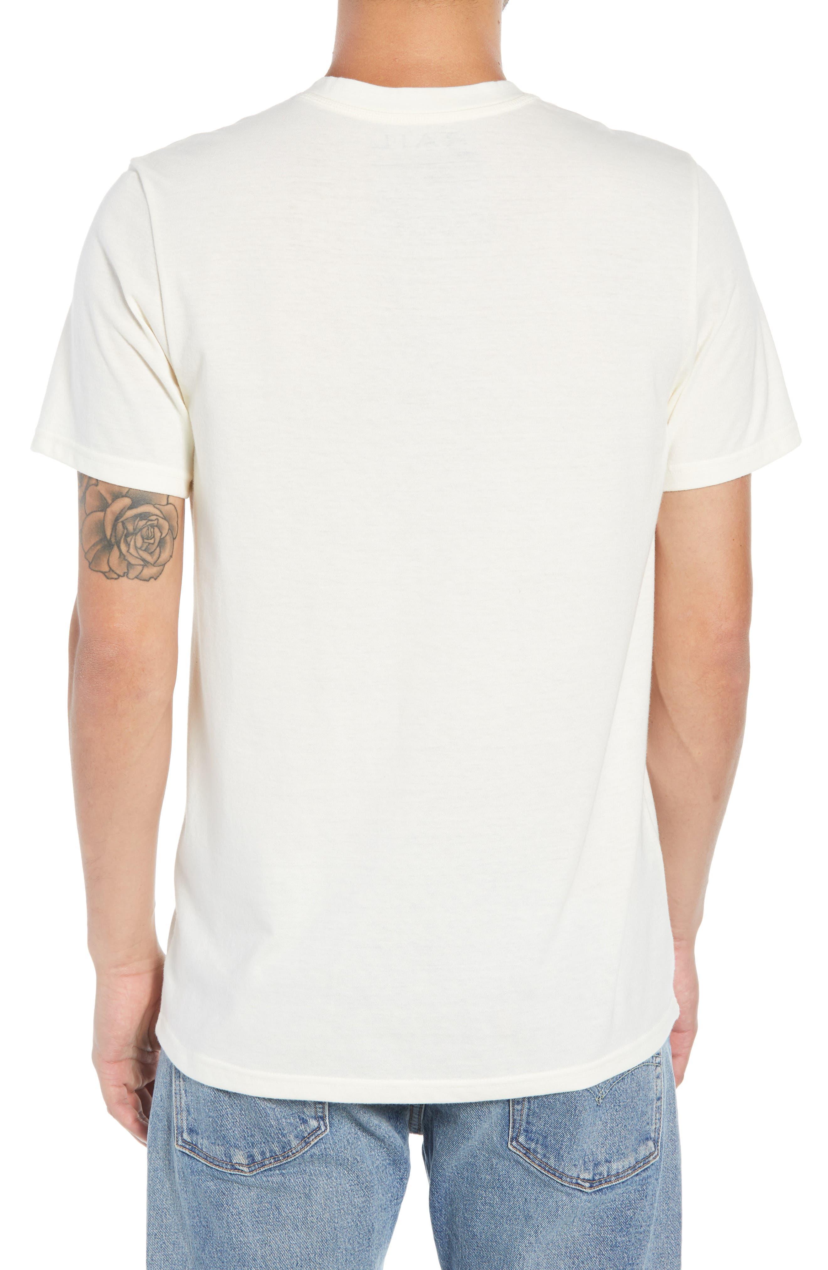 Solid Henley T-Shirt,                             Alternate thumbnail 2, color,                             IVORY EGRET