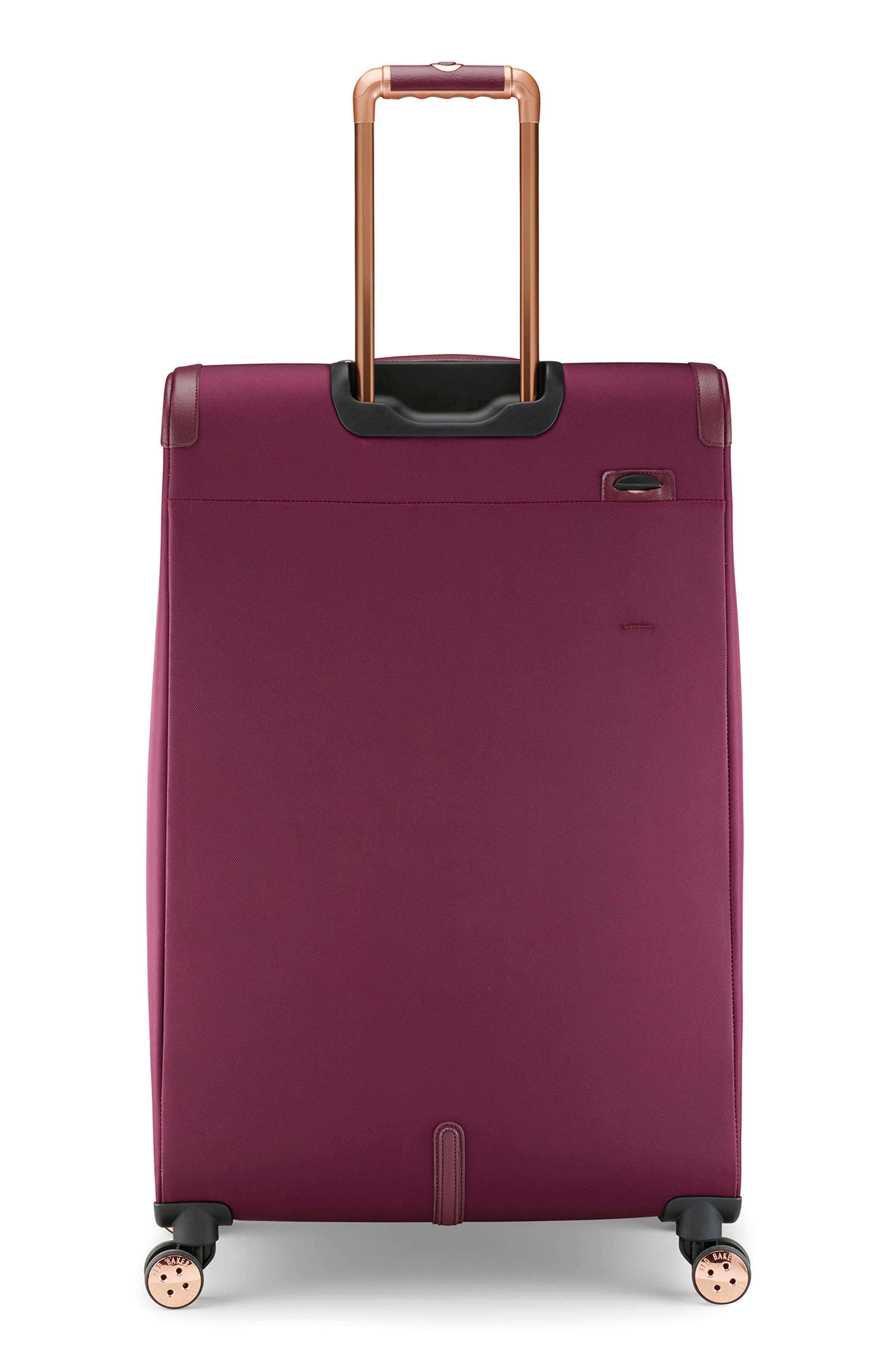33-Inch Spinner Trolley Packing Case,                             Alternate thumbnail 4, color,                             BURGUNDY